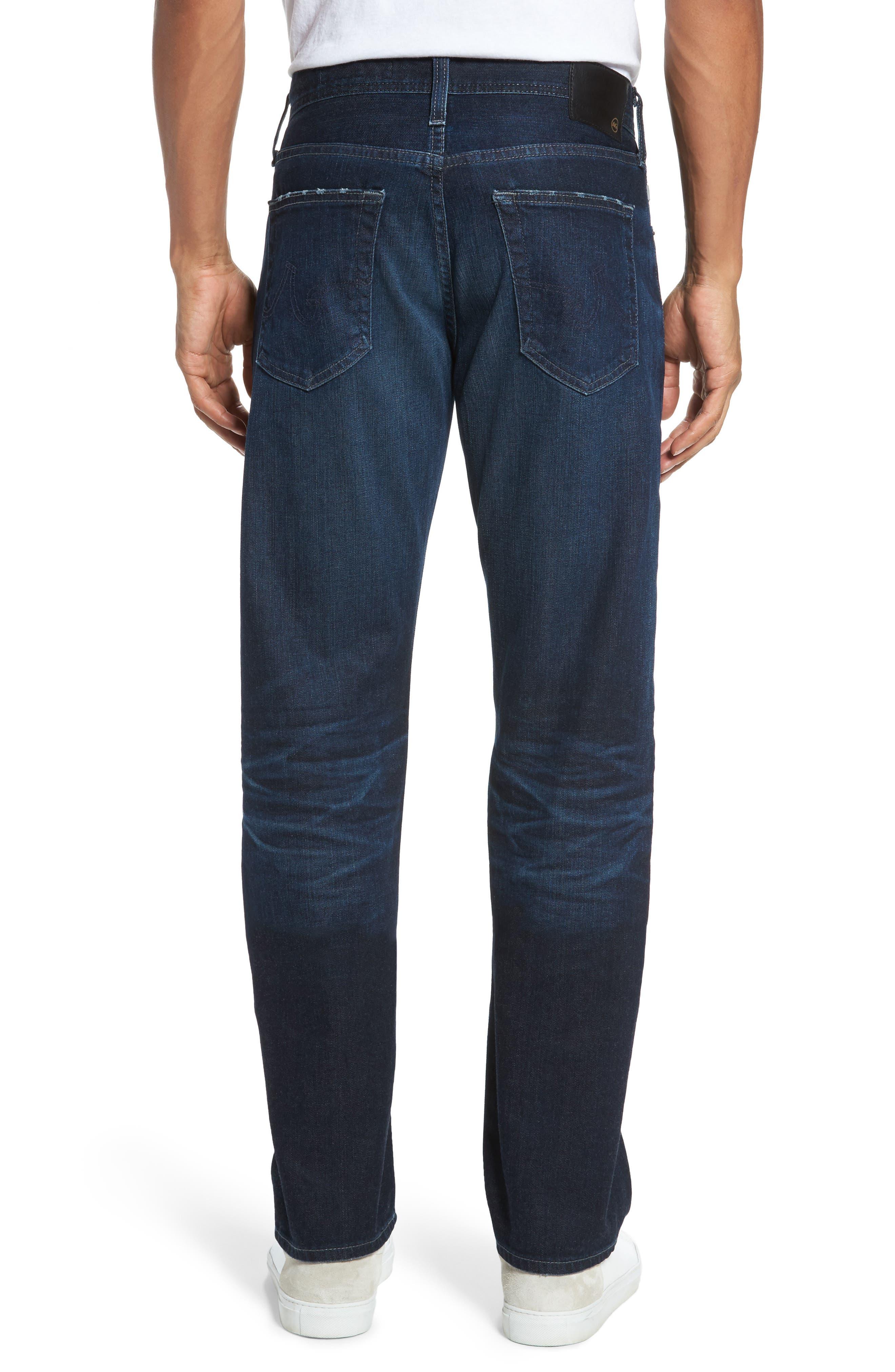 Graduate Slim Straight Fit Jeans,                             Alternate thumbnail 2, color,                             482