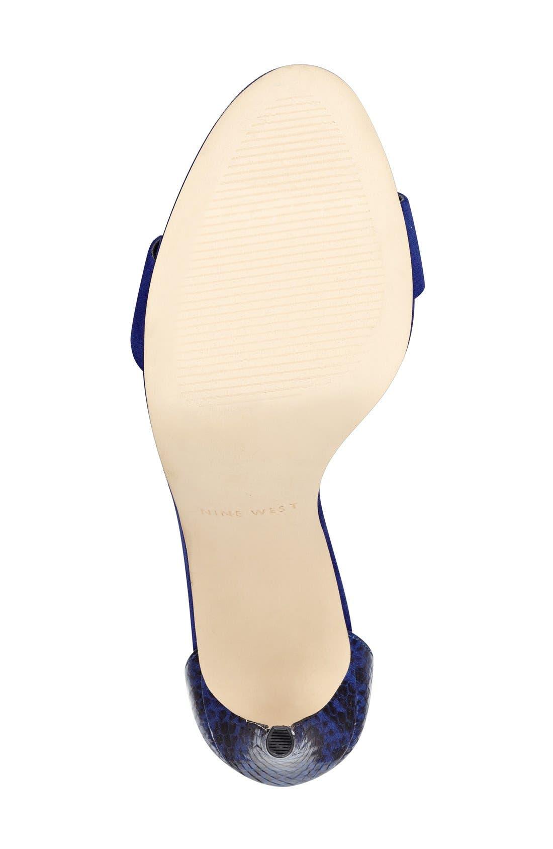 'Mana' Ankle Strap Sandal,                             Alternate thumbnail 22, color,