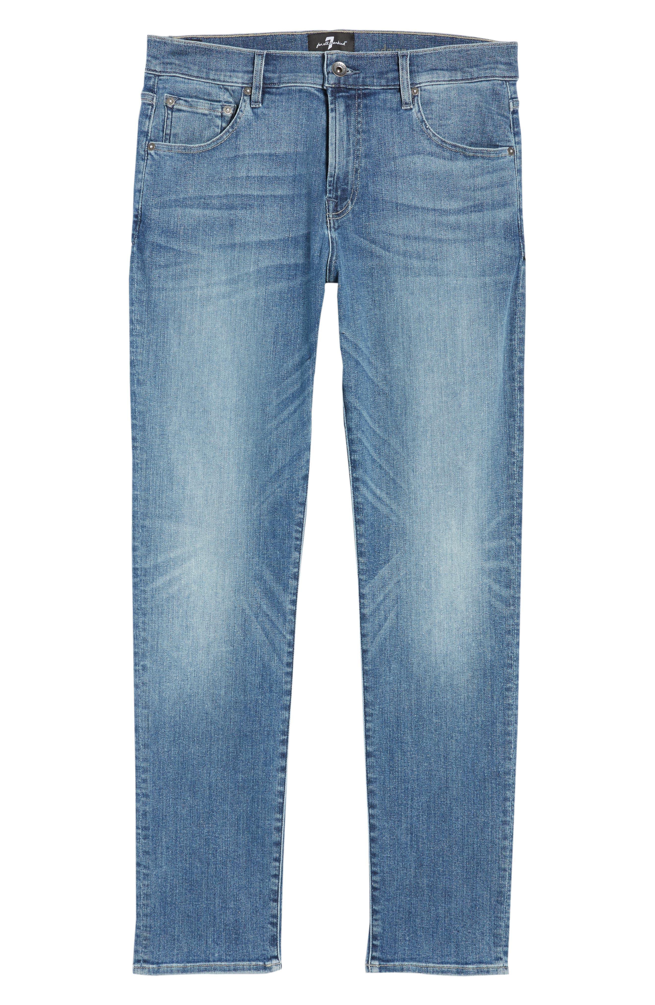 Adrien Slim Fit Jeans,                             Alternate thumbnail 6, color,                             VORTEX