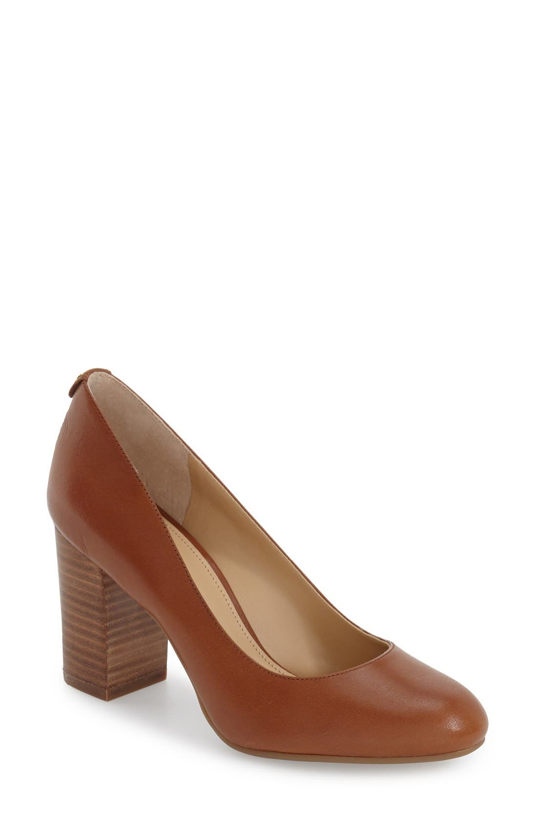 'Lucy - Flex' Round Toe Pump,                             Main thumbnail 2, color,