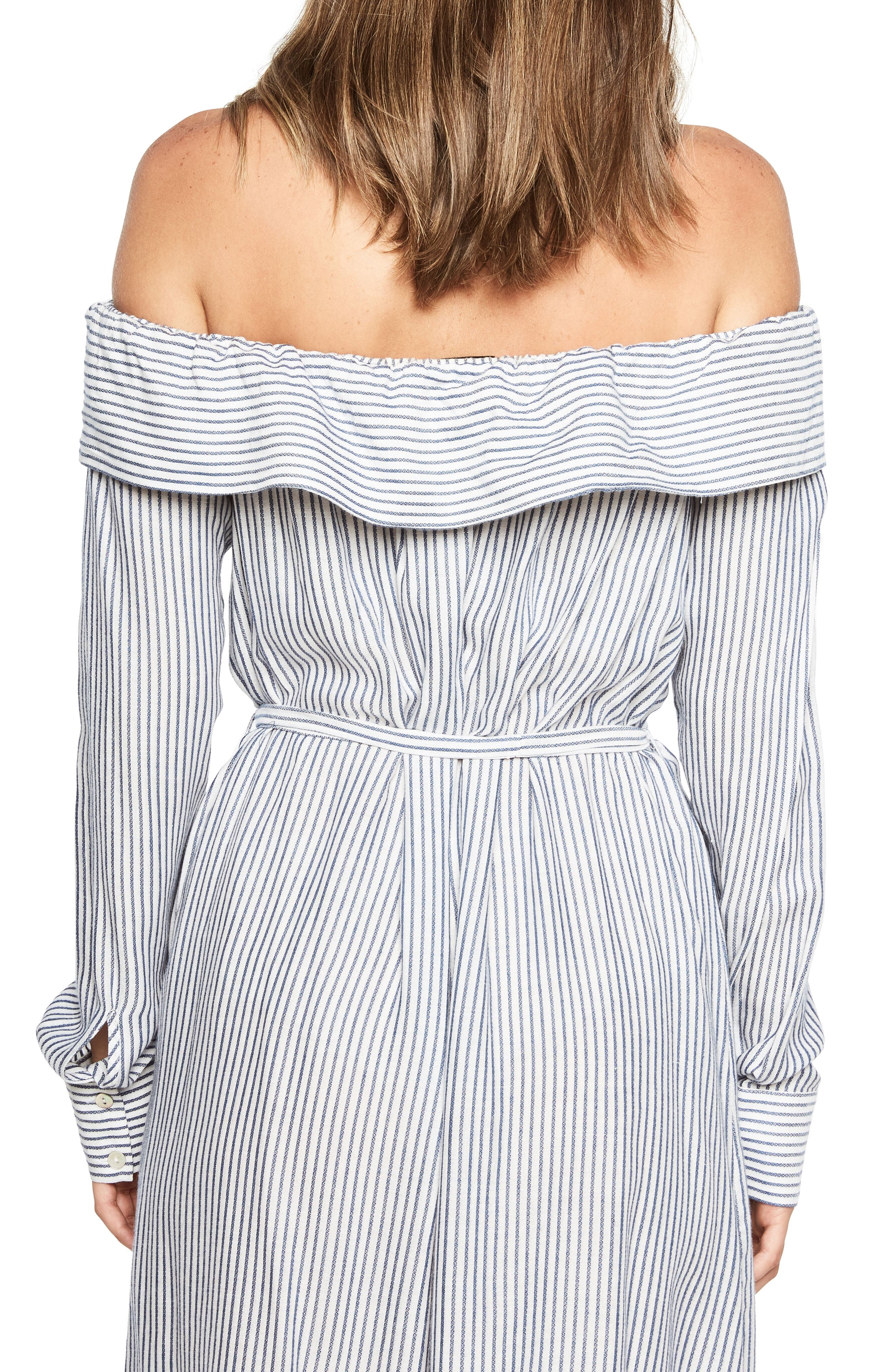 Sienna Off the Shoulder Shirtdress,                             Alternate thumbnail 2, color,                             486