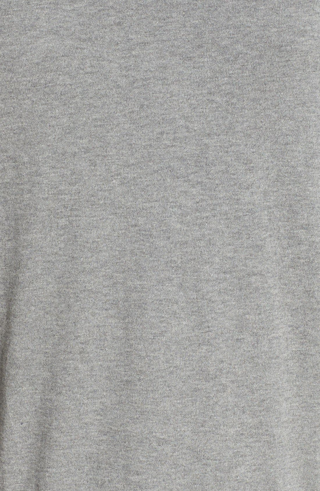 V-Neck Cotton Pullover,                             Alternate thumbnail 5, color,                             020