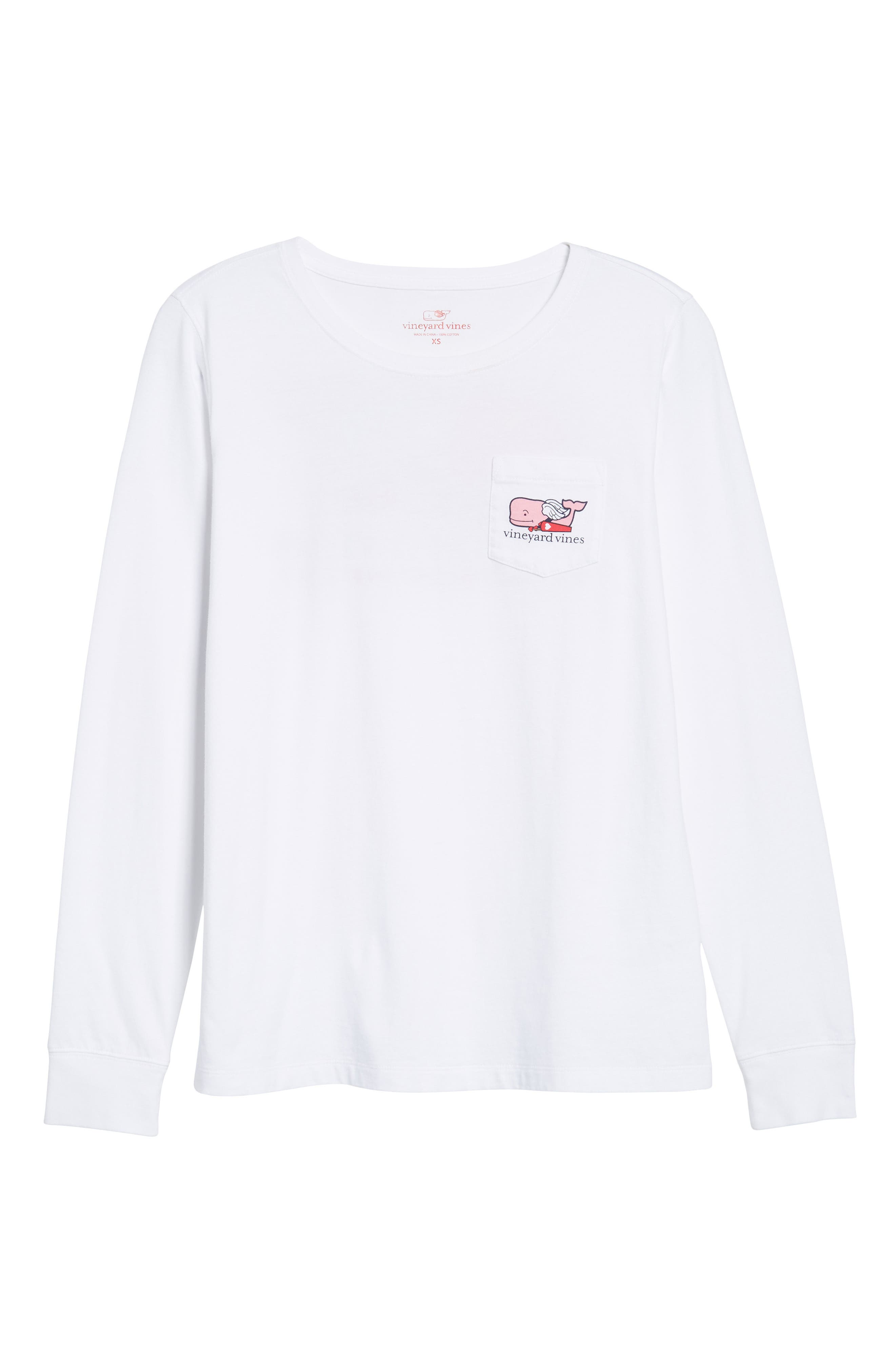 Cupid Whale Pocket Tee,                             Alternate thumbnail 6, color,