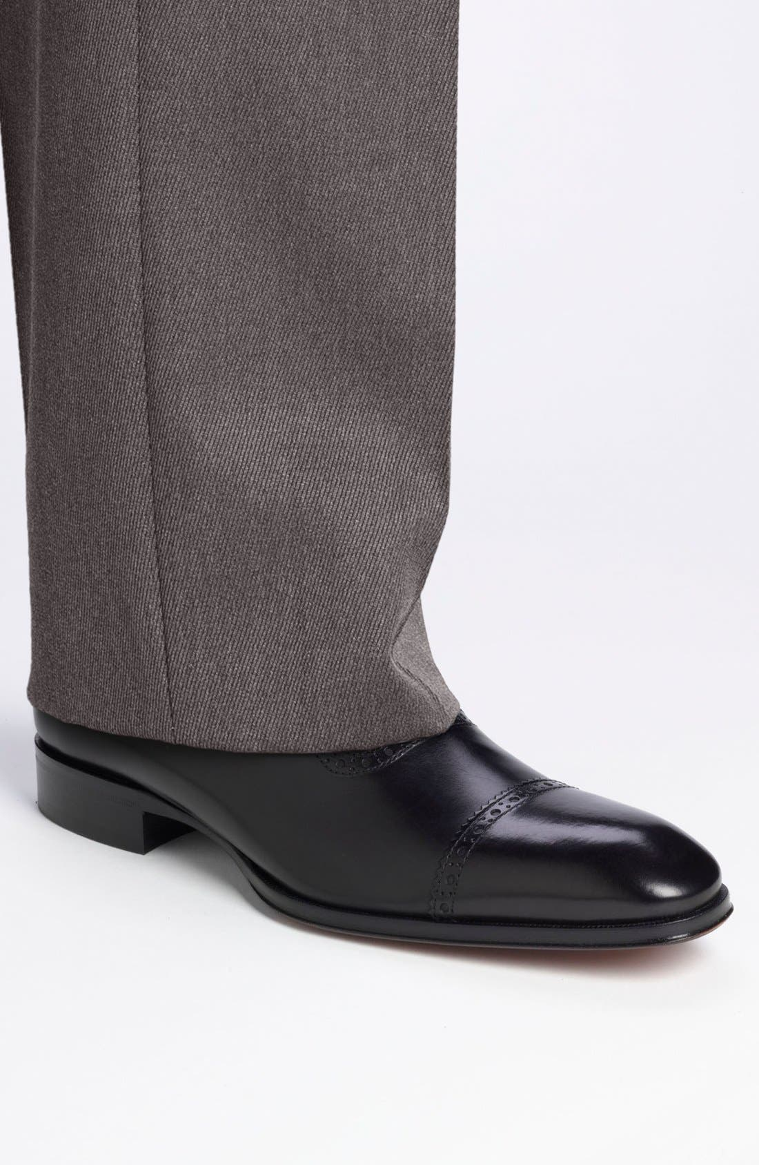 TO BOOT NEW YORK,                             'Warwick' Cap Toe Oxford,                             Alternate thumbnail 5, color,                             001