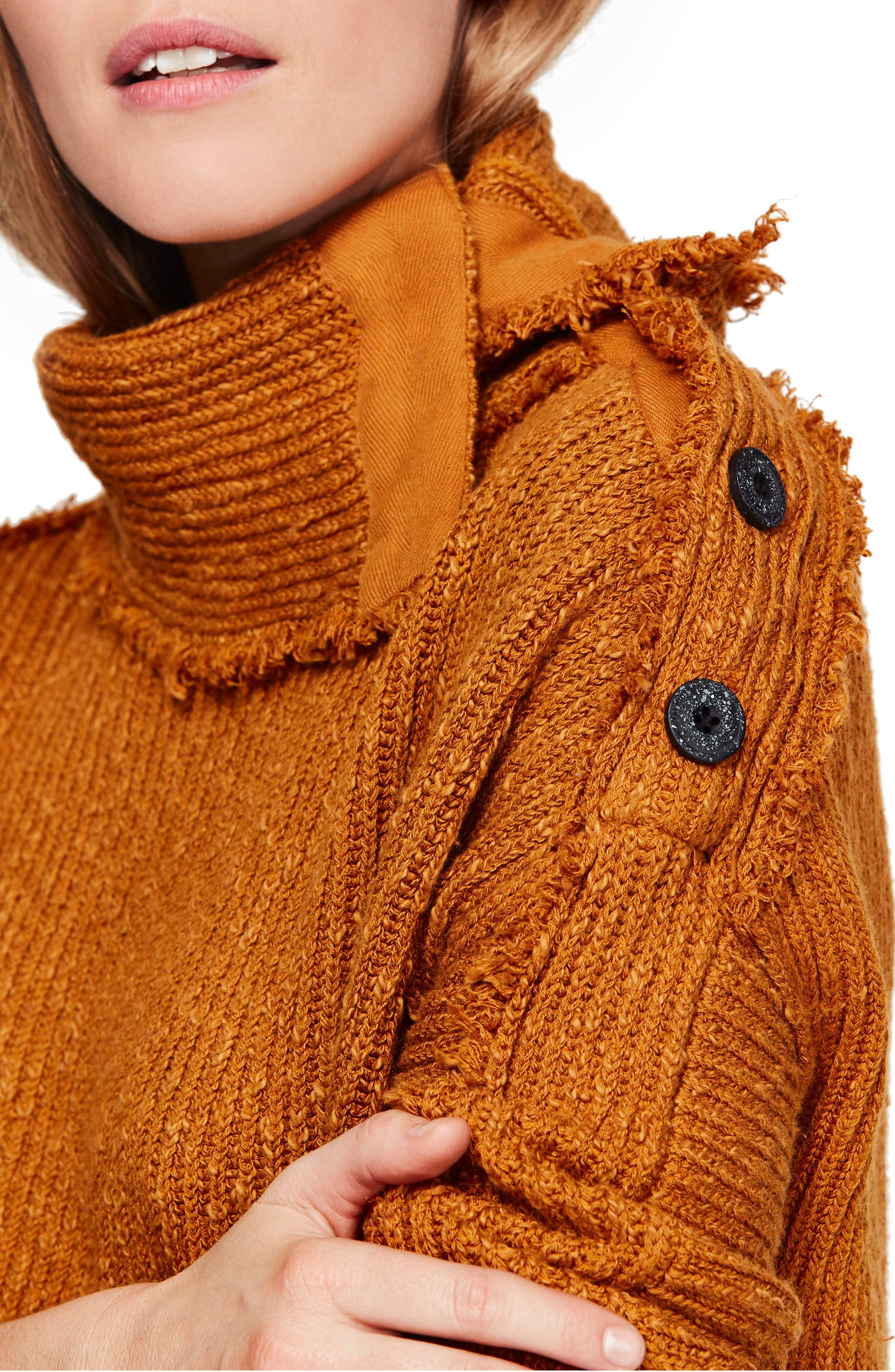 On My Side Turtleneck Sweater,                             Alternate thumbnail 4, color,                             710