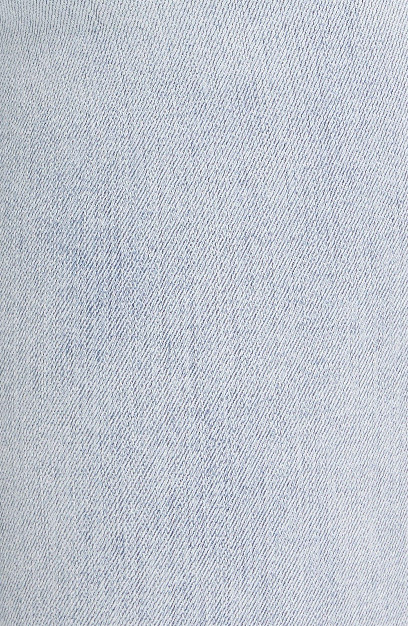 RAG & BONE,                             JEAN Ripped Ankle Skinny Jeans,                             Alternate thumbnail 6, color,                             LYNN W HOLES