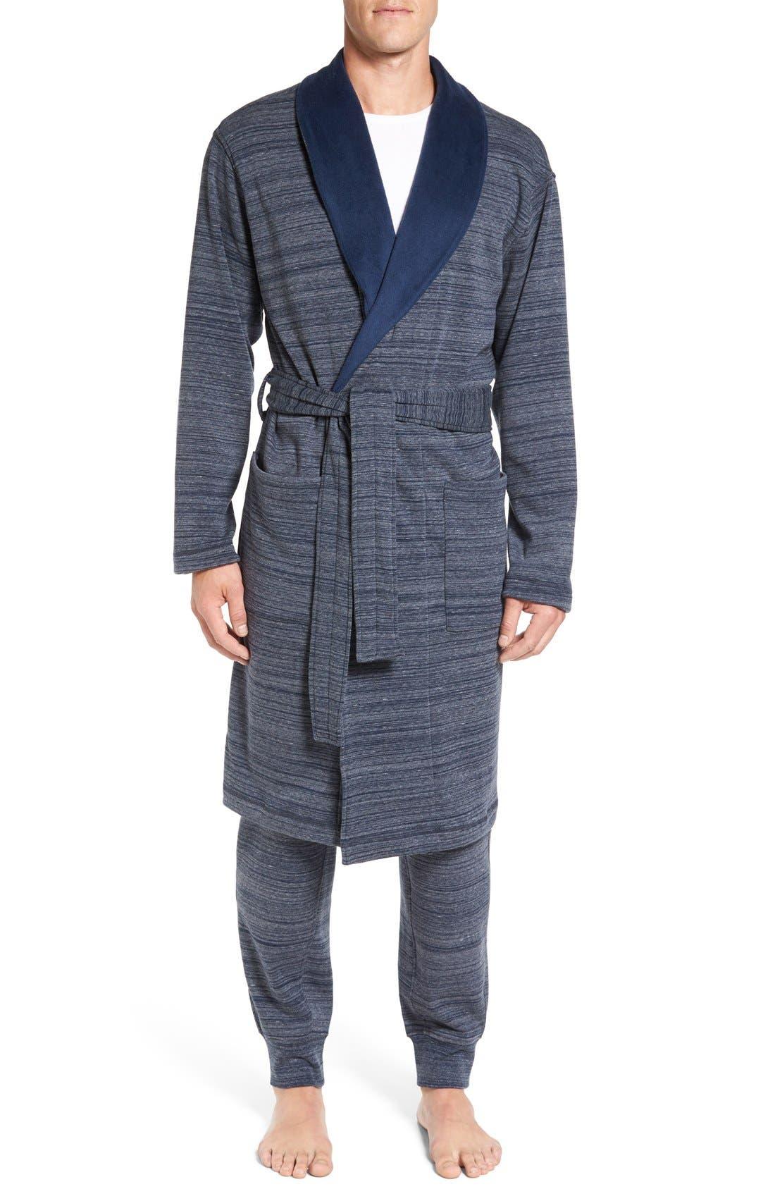 'Robinson' Stretch Cotton Robe,                             Main thumbnail 2, color,