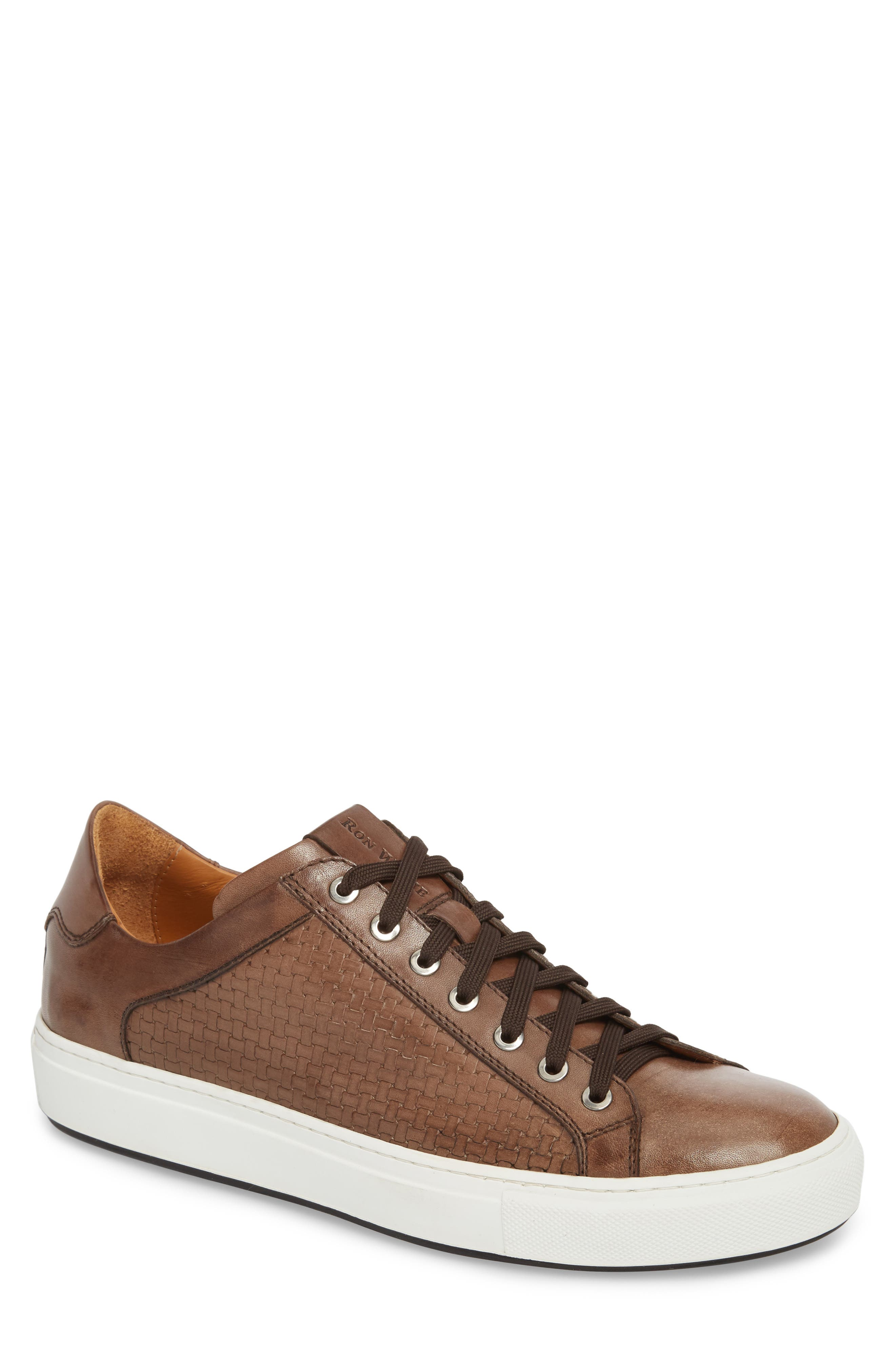 Diego Sneaker,                             Main thumbnail 1, color,                             WALNUT