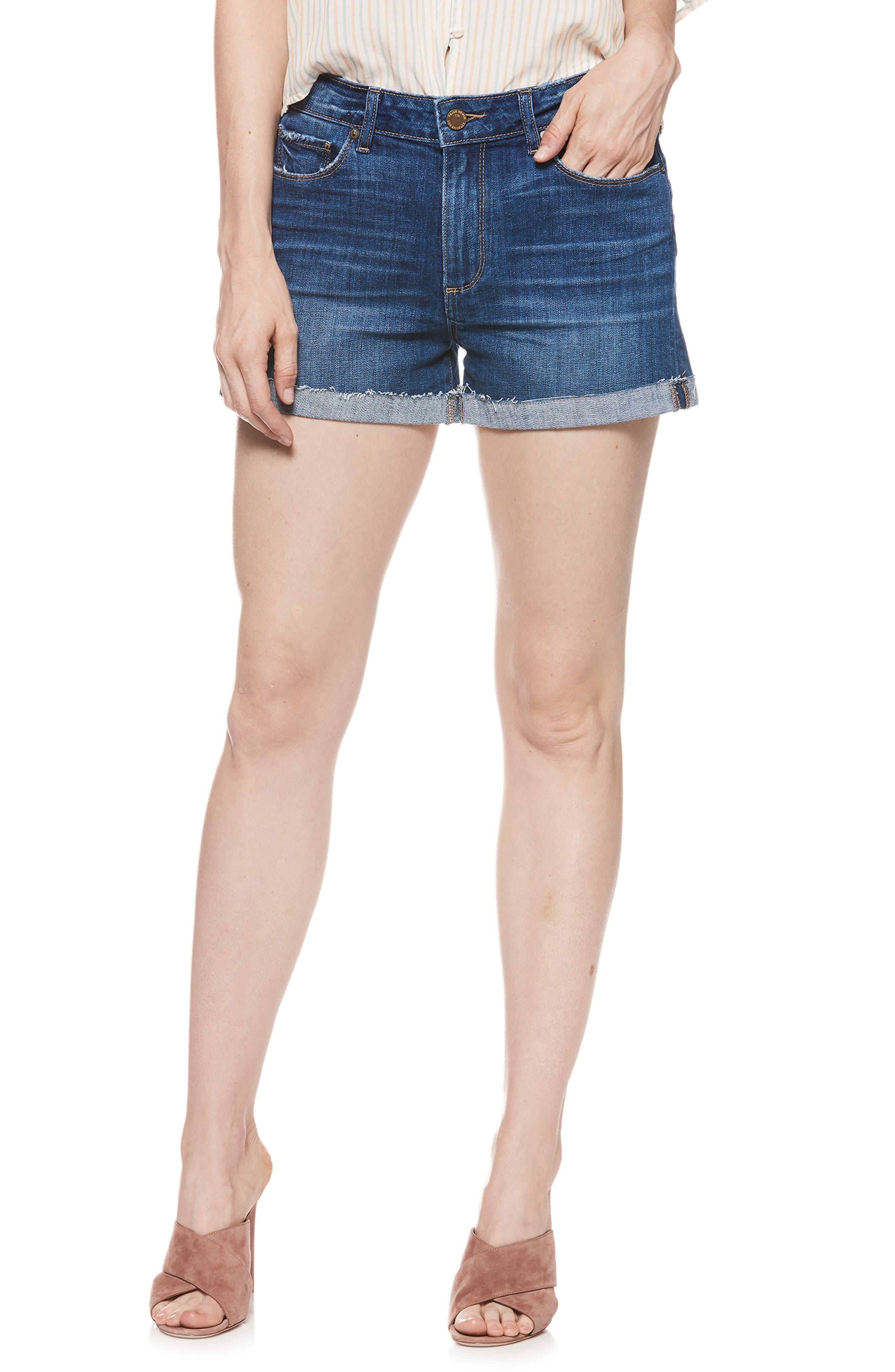Jimmy Jimmy Cutoff Denim Shorts,                         Main,                         color, 400