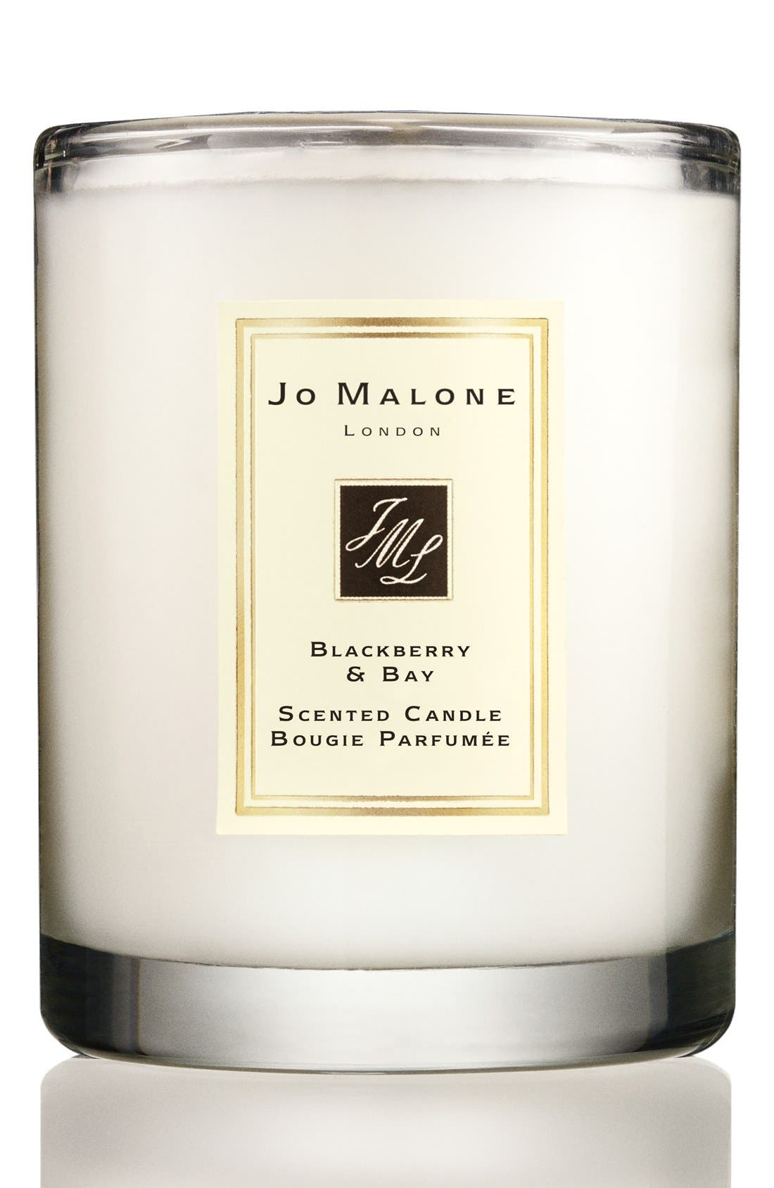 Jo Malone<sup>™</sup> Blackberry & Bay Travel Candle,                             Main thumbnail 1, color,