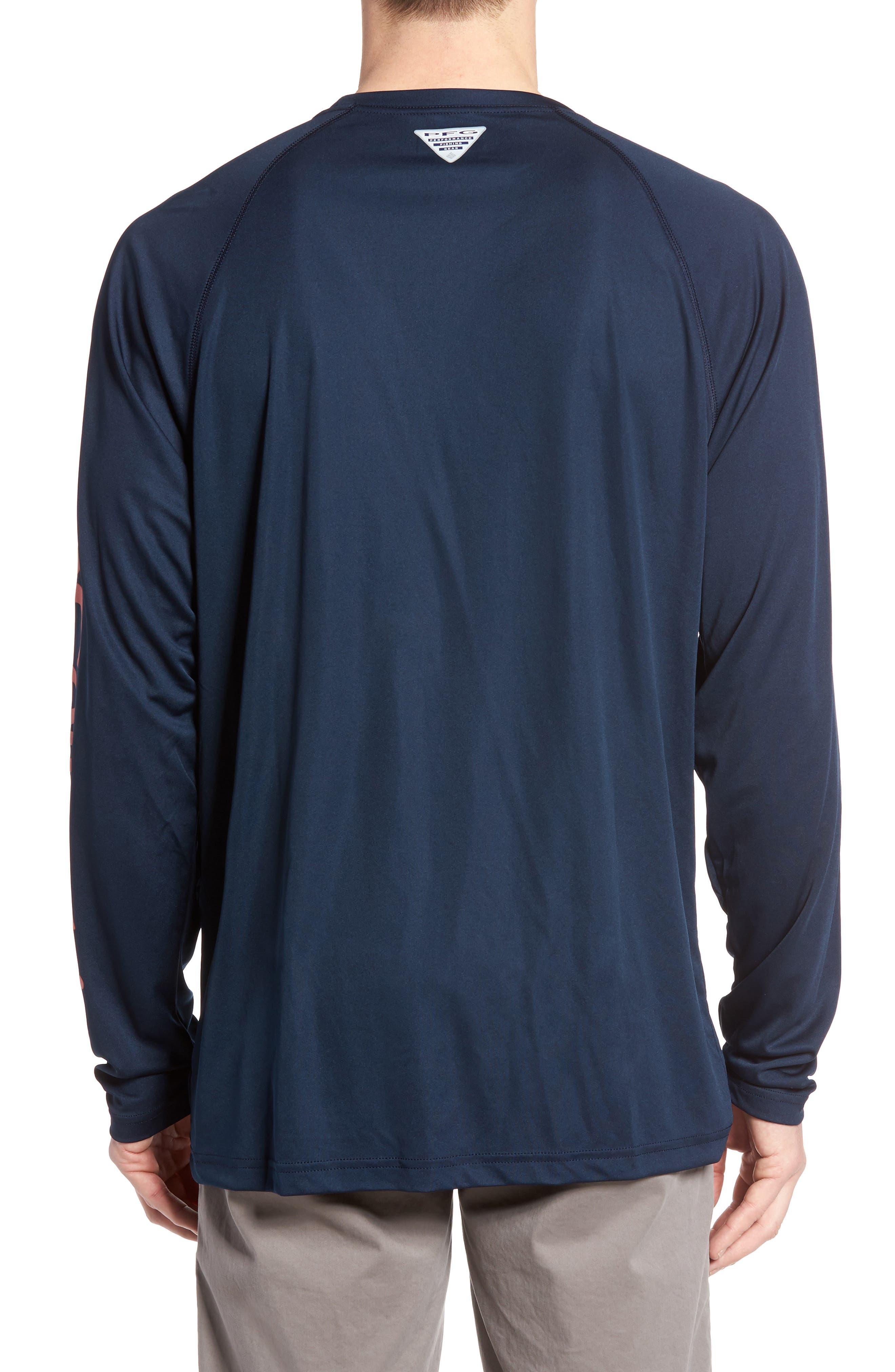 PFG Terminal Tackle Performance Long Sleeve T-Shirt,                             Alternate thumbnail 18, color,