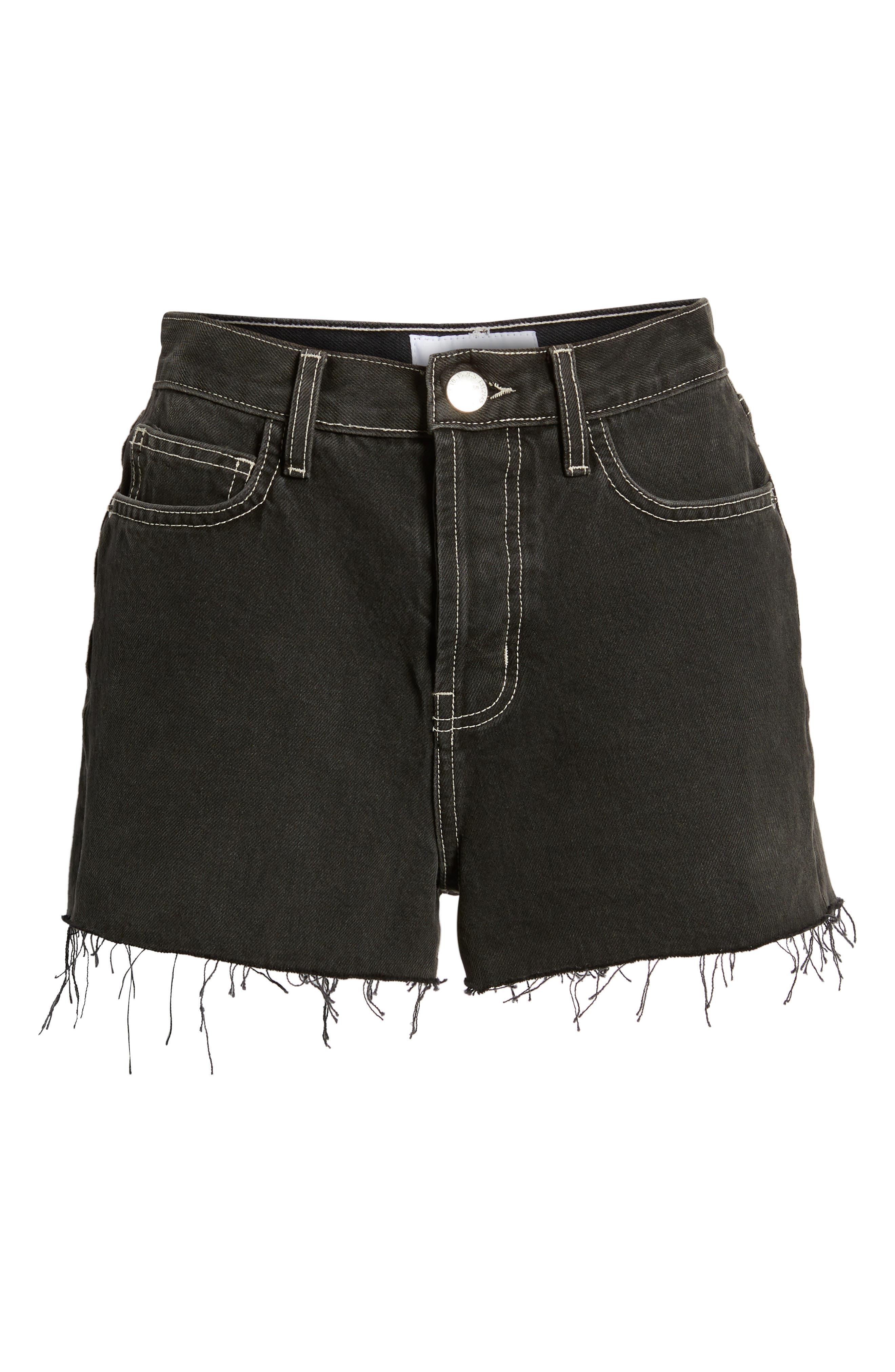 The Ultra High Waist Denim Shorts,                             Alternate thumbnail 7, color,                             006