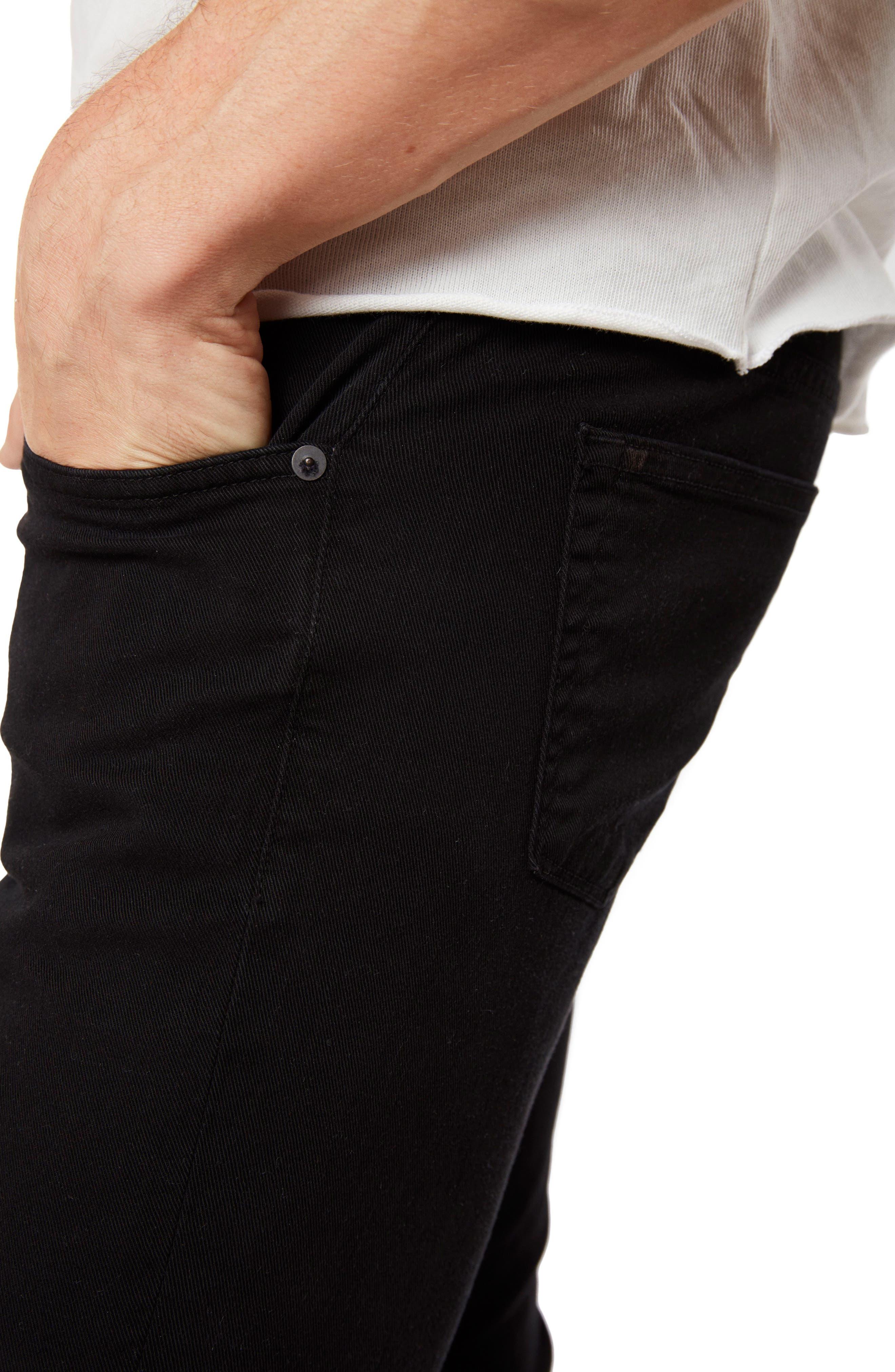Mick Skinny Fit Jeans,                             Alternate thumbnail 5, color,                             LINCOLN OAK