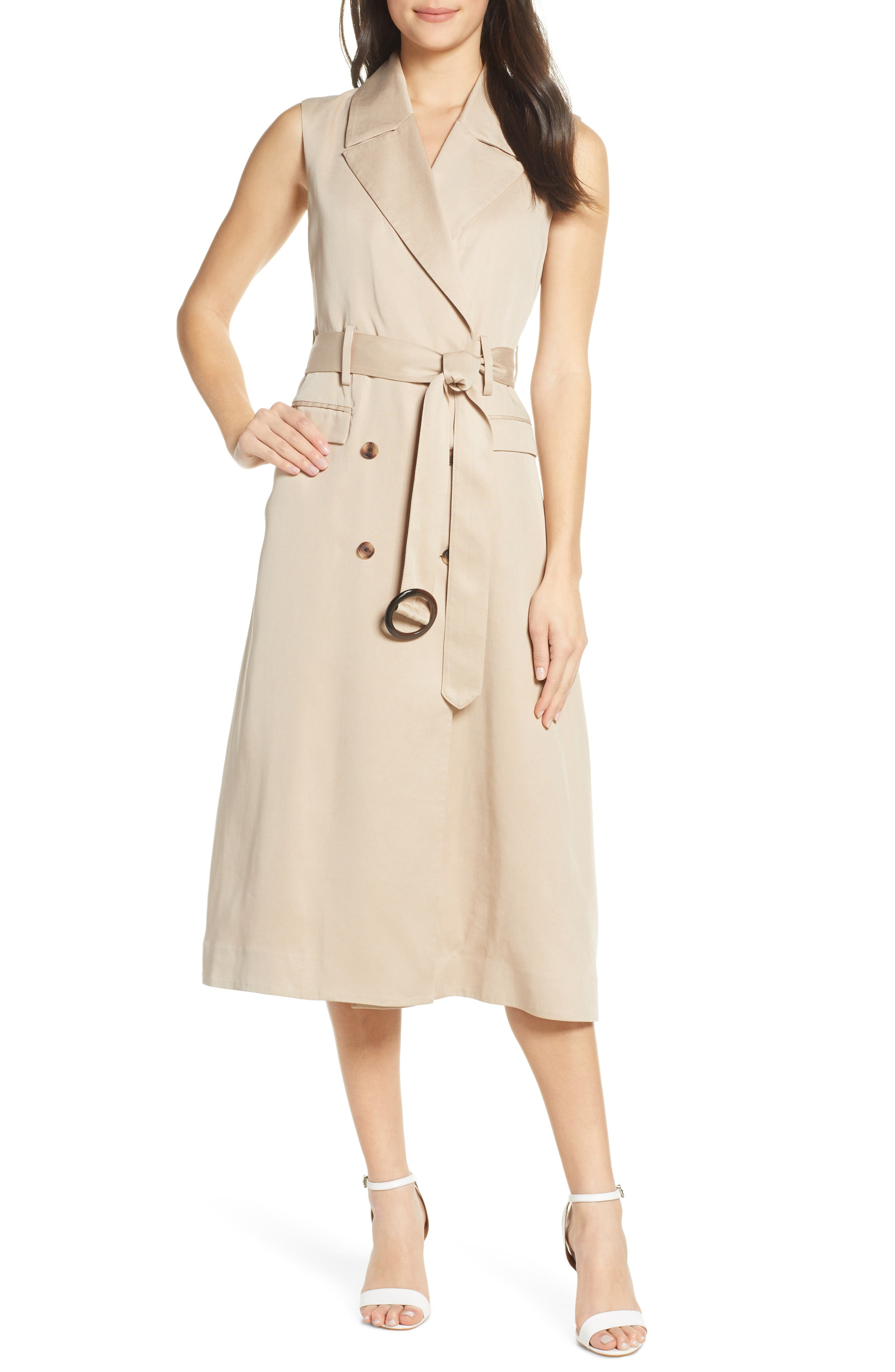 Trench Dress by Fame And Partners