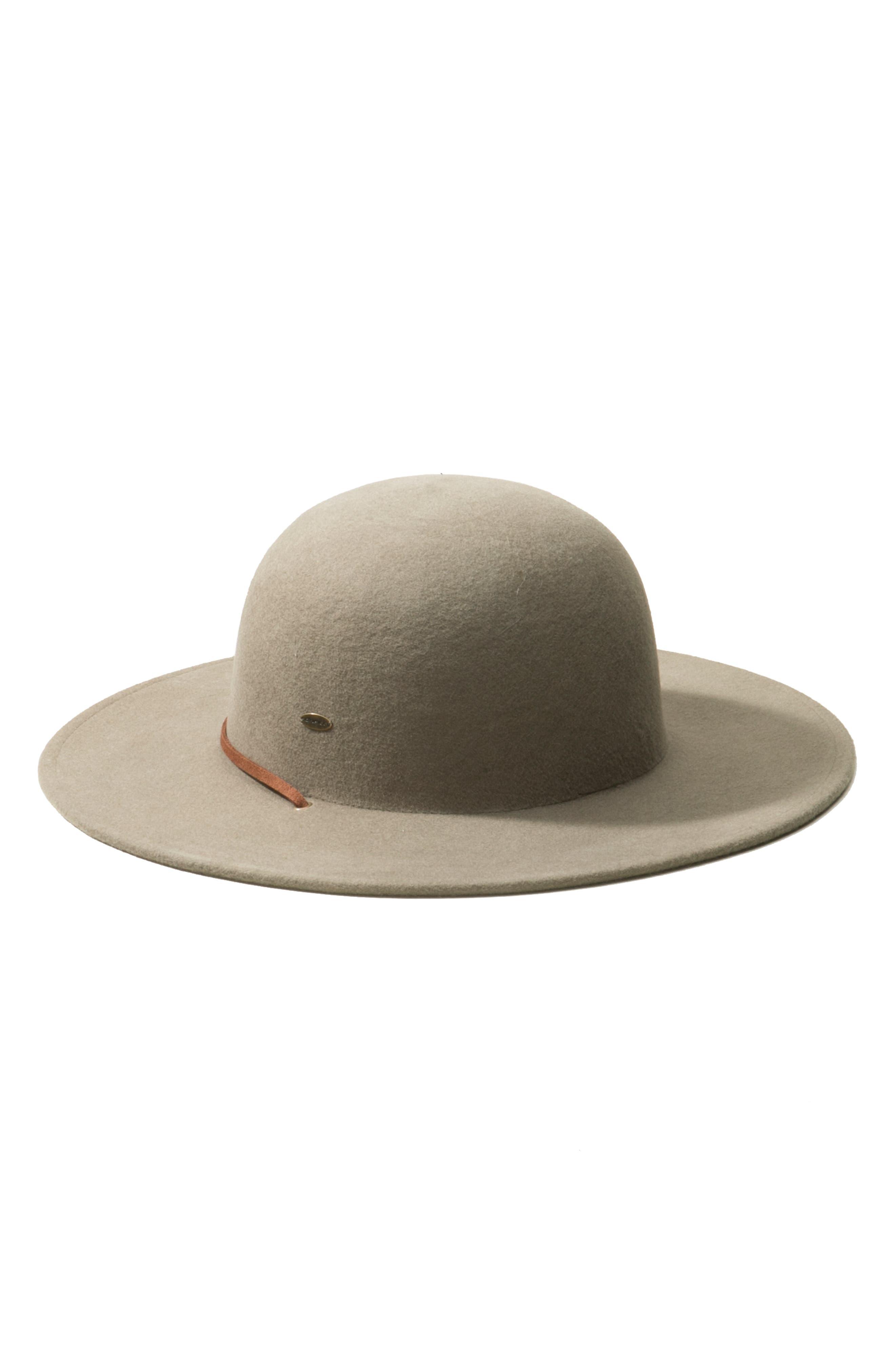 Trail Ride Wool Felt Hat,                             Alternate thumbnail 2, color,                             KANGAROO