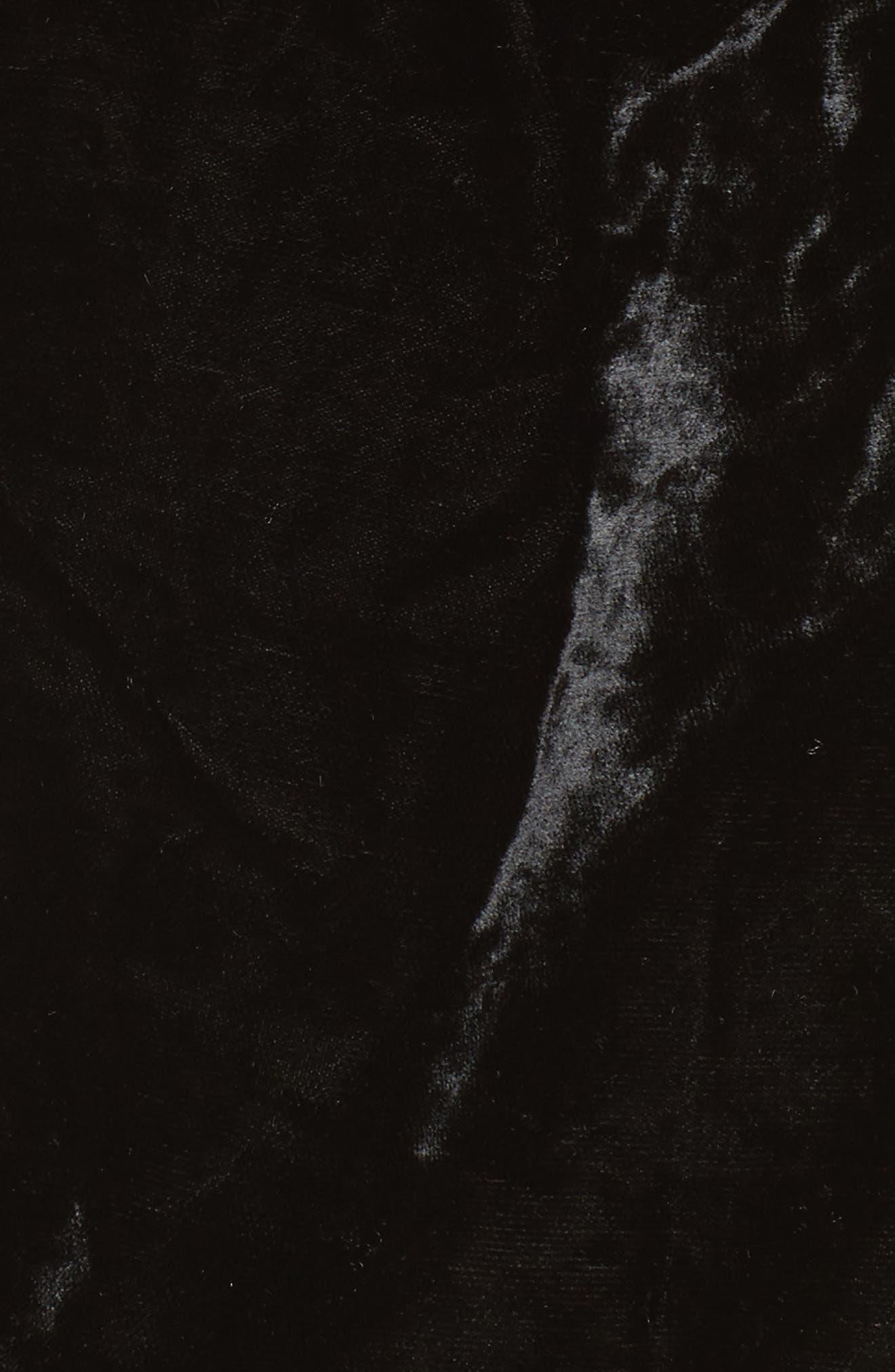 Velvet Shirt,                             Alternate thumbnail 5, color,                             001