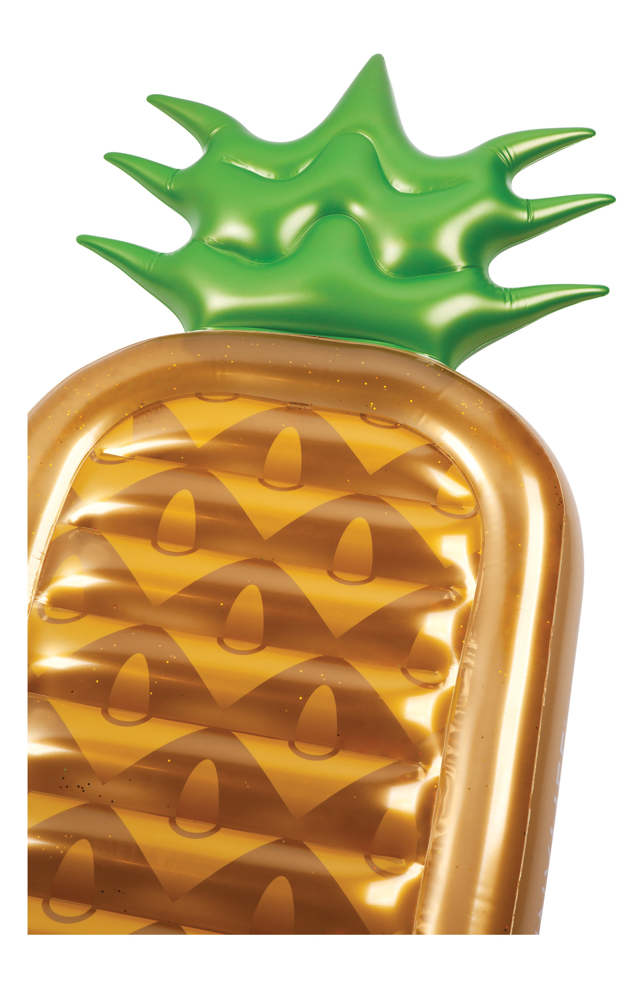 Inflatable Pineapple Pool Float,                             Alternate thumbnail 3, color,