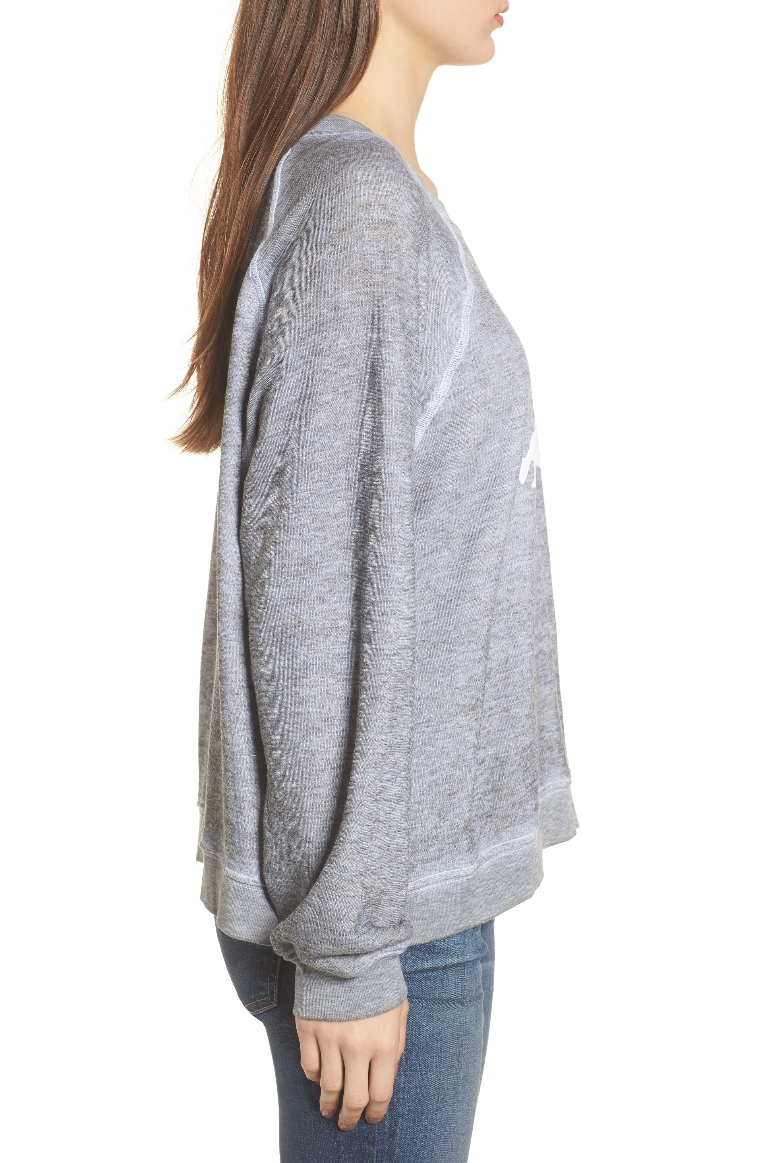 I Love My Dog - Sommers Sweatshirt,                             Alternate thumbnail 3, color,                             020