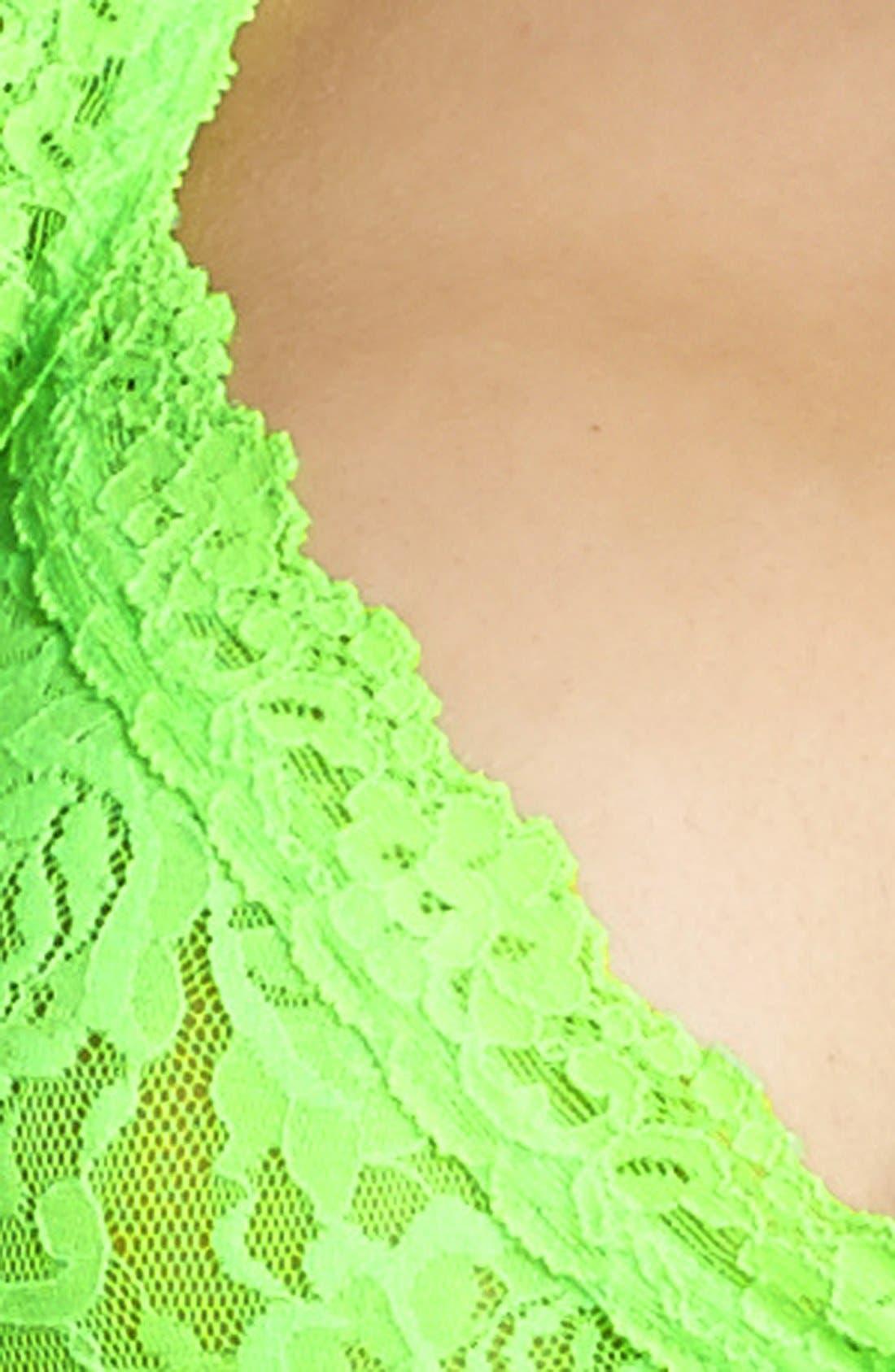 'Signature Lace' Bralette,                             Alternate thumbnail 84, color,