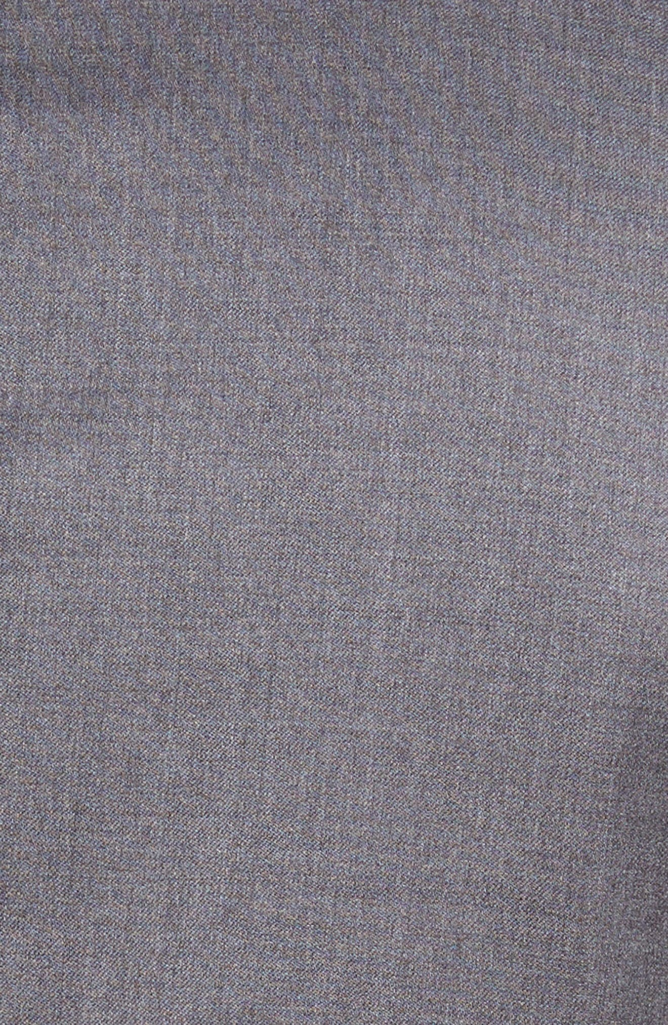 Ryan/Win Trim Fit Solid Wool Suit,                             Alternate thumbnail 7, color,                             031