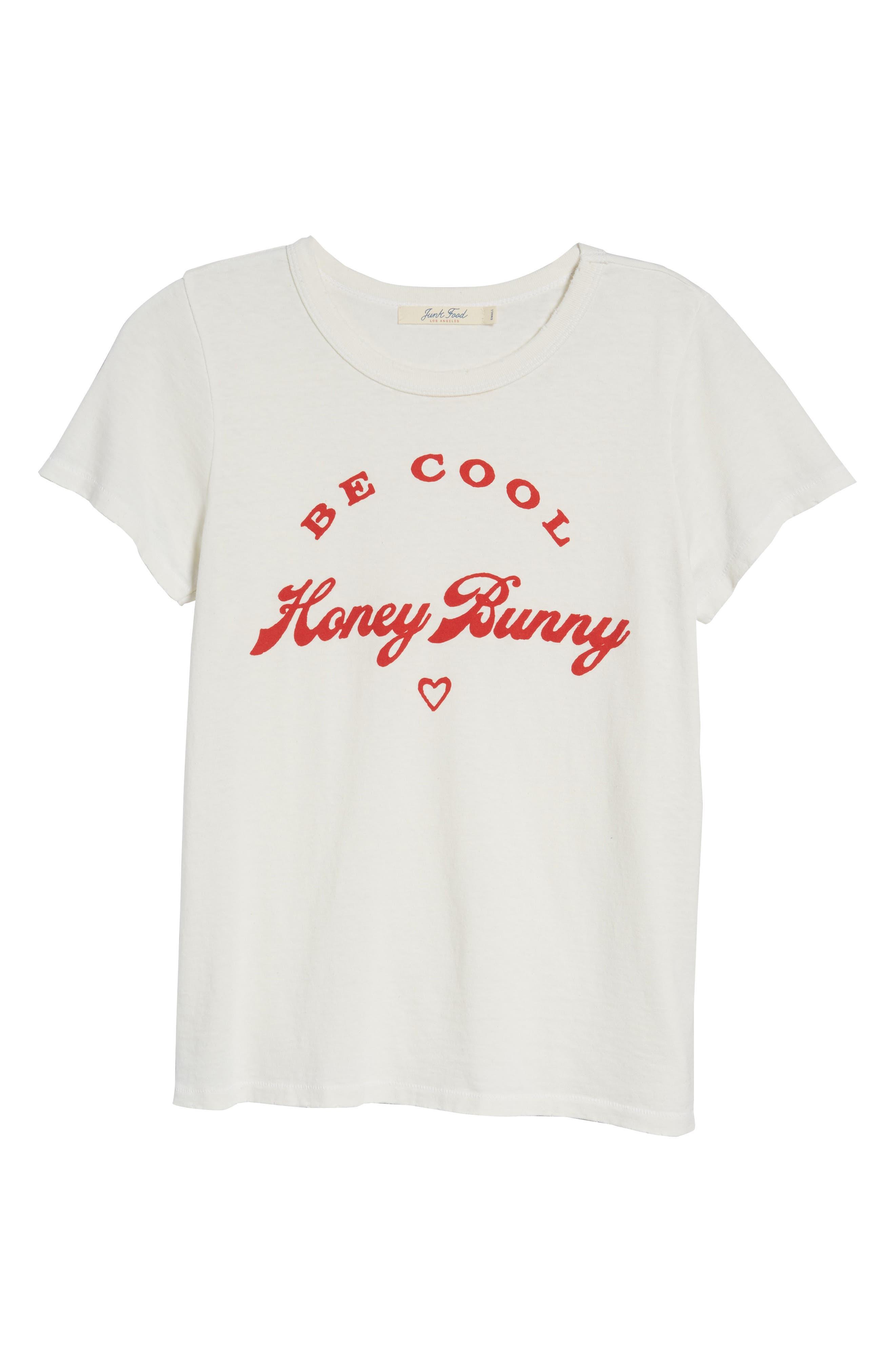 Honey Bunny Tee,                             Alternate thumbnail 7, color,                             110