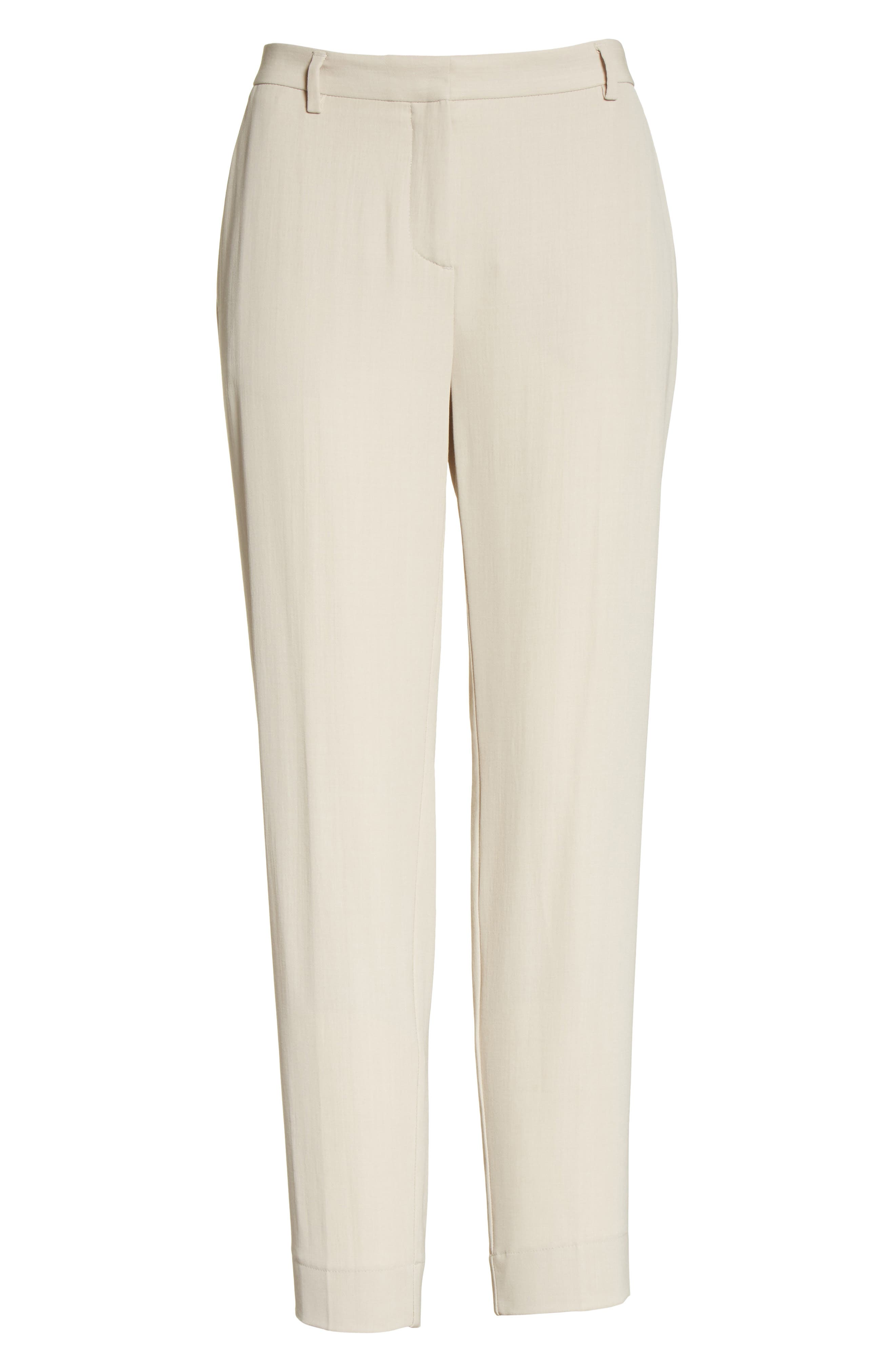 Wool Blend Ankle Pants,                             Alternate thumbnail 6, color,