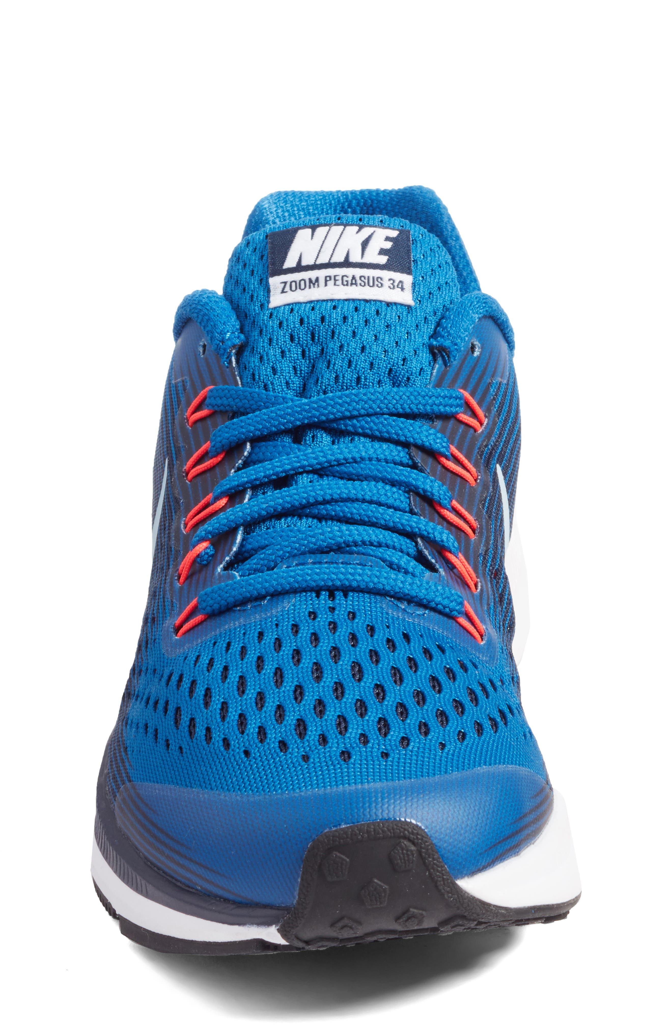 Zoom Pegasus 34 Sneaker,                             Alternate thumbnail 30, color,
