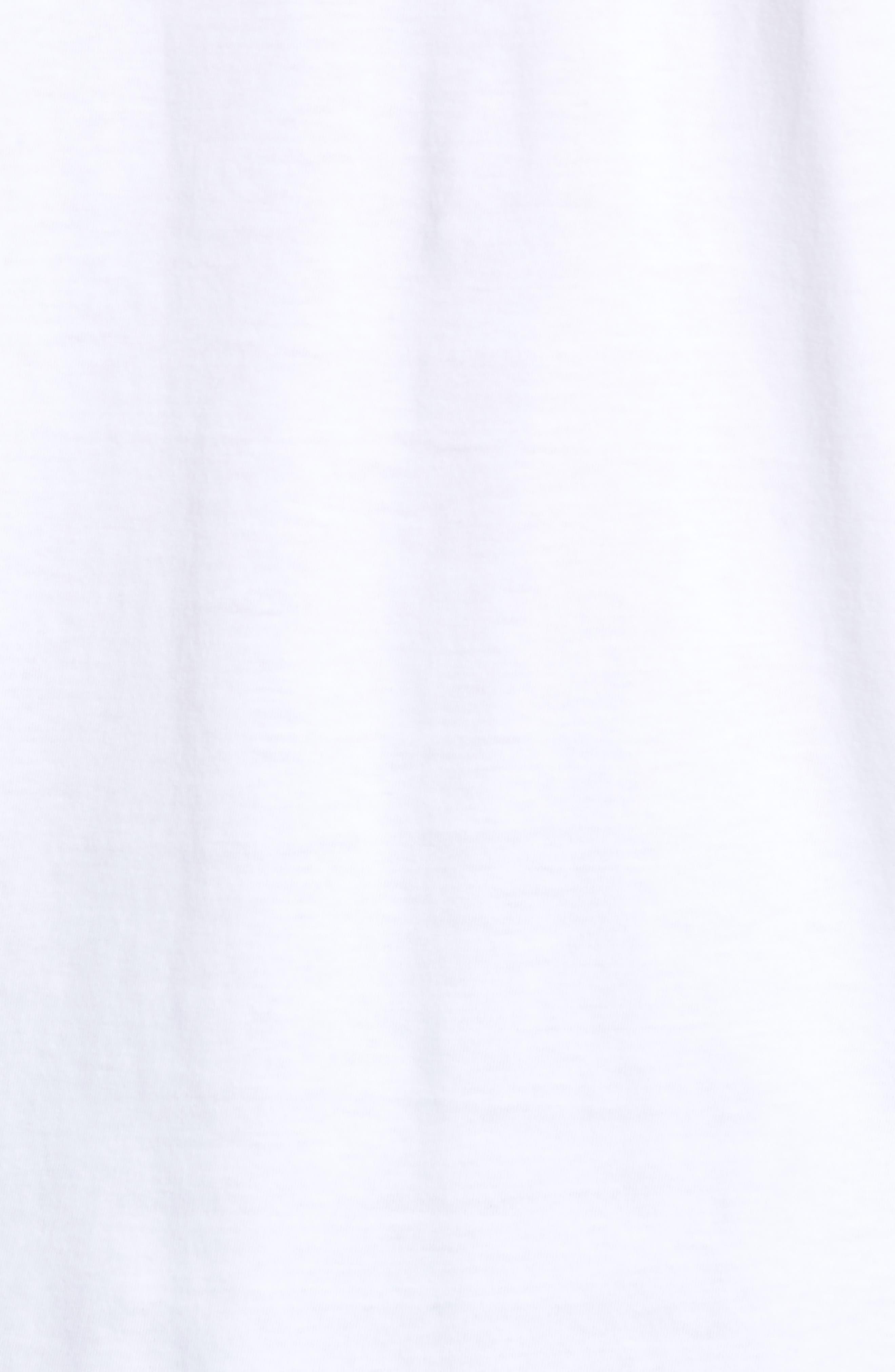 Living Long Sleeve T-Shirt,                             Alternate thumbnail 5, color,                             WHITE
