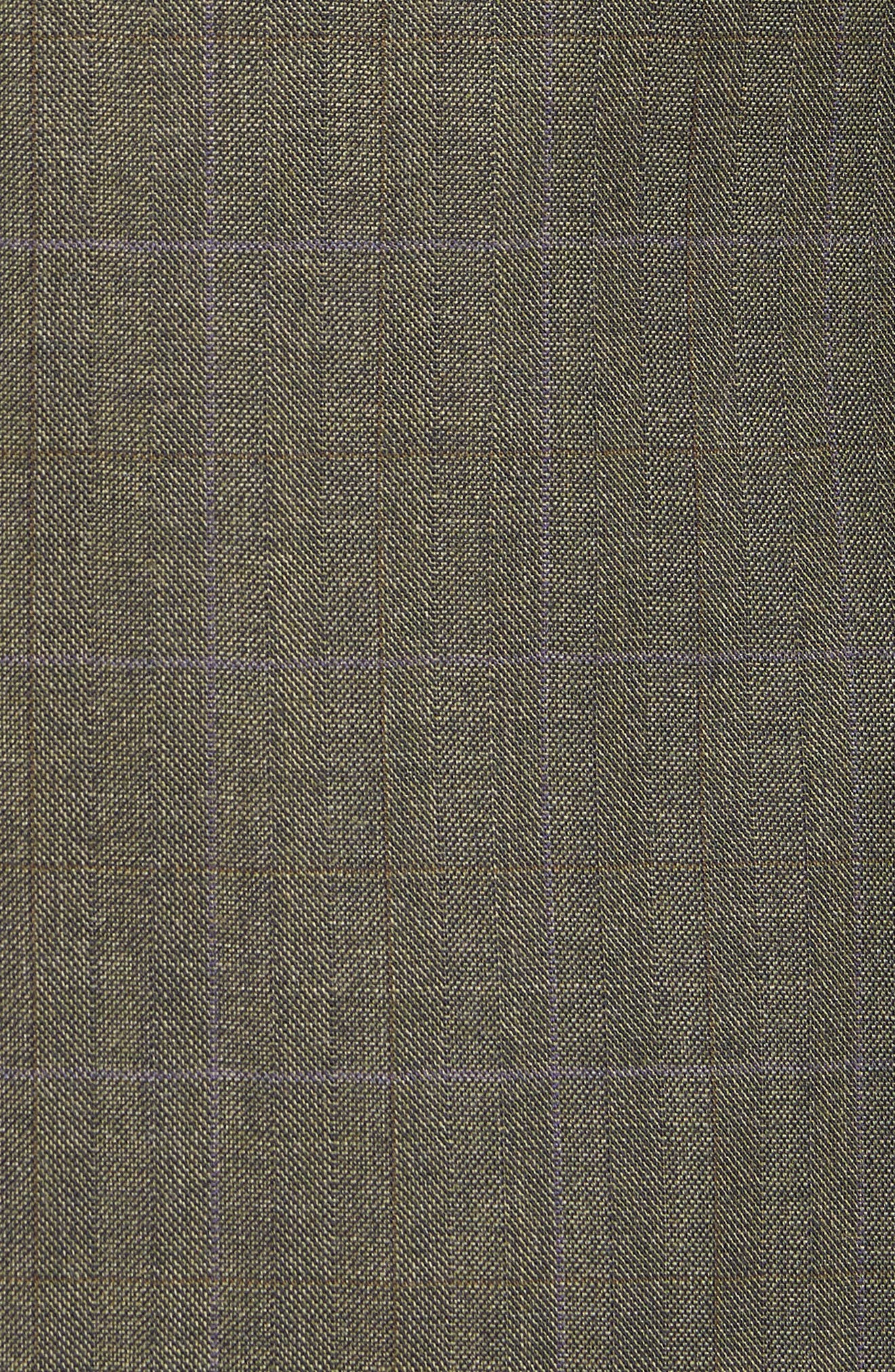 Ludlow Trim Fit Herringbone Wool Sport Coat,                             Alternate thumbnail 6, color,                             301