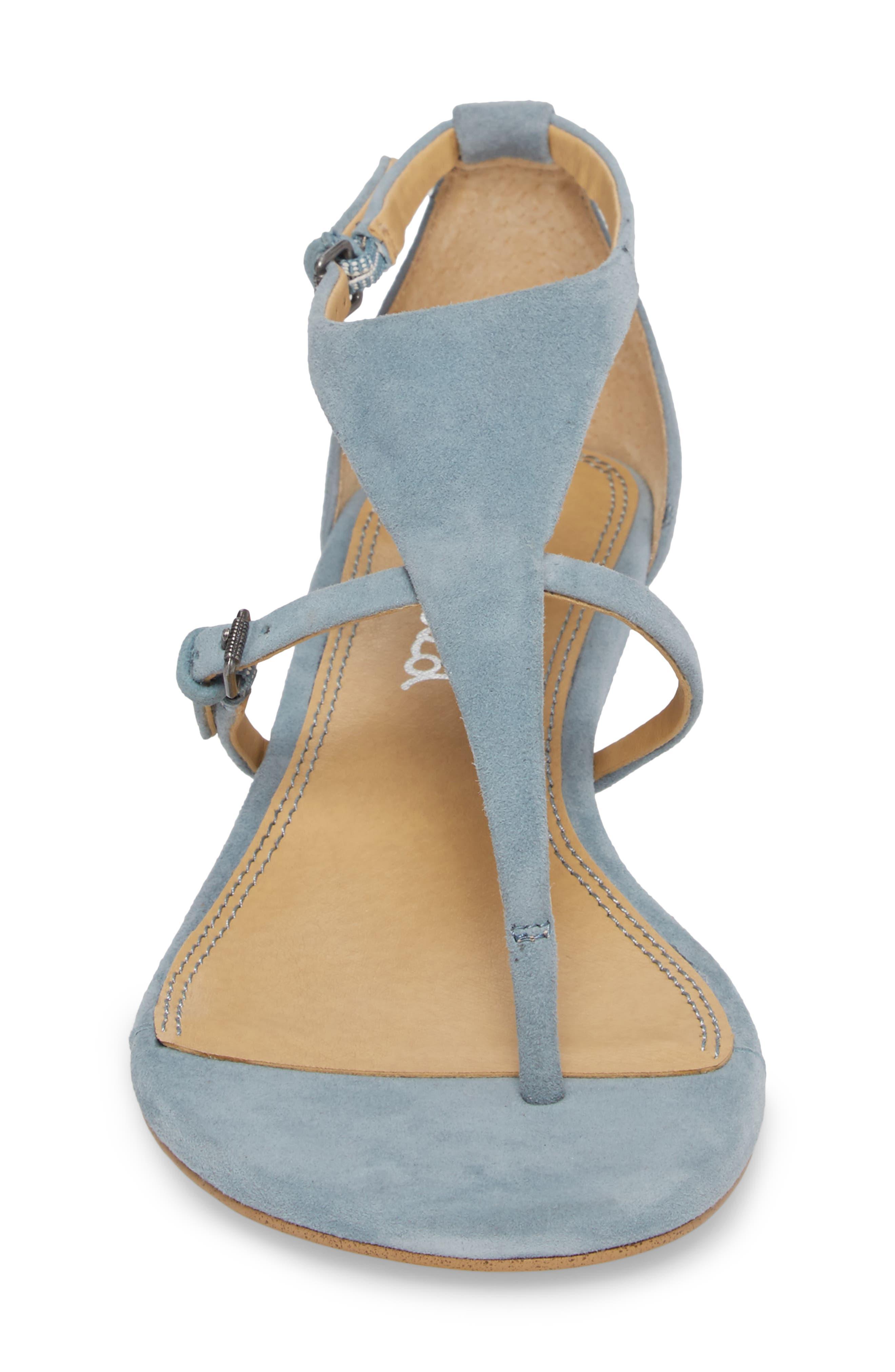 Brooklyn V-Strap Wedge Sandal,                             Alternate thumbnail 16, color,