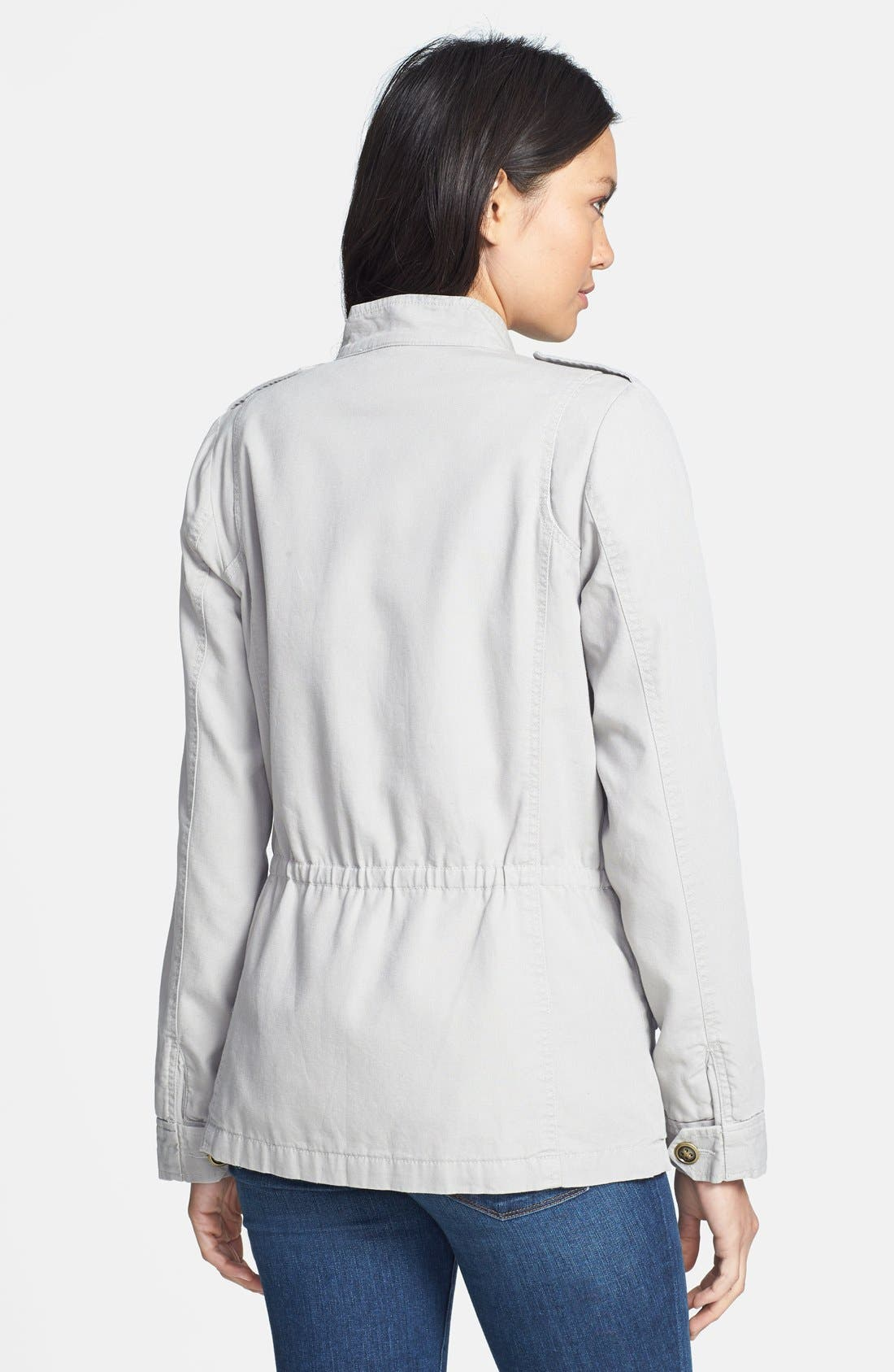 'Expedition' Cotton Twill Jacket,                             Alternate thumbnail 4, color,