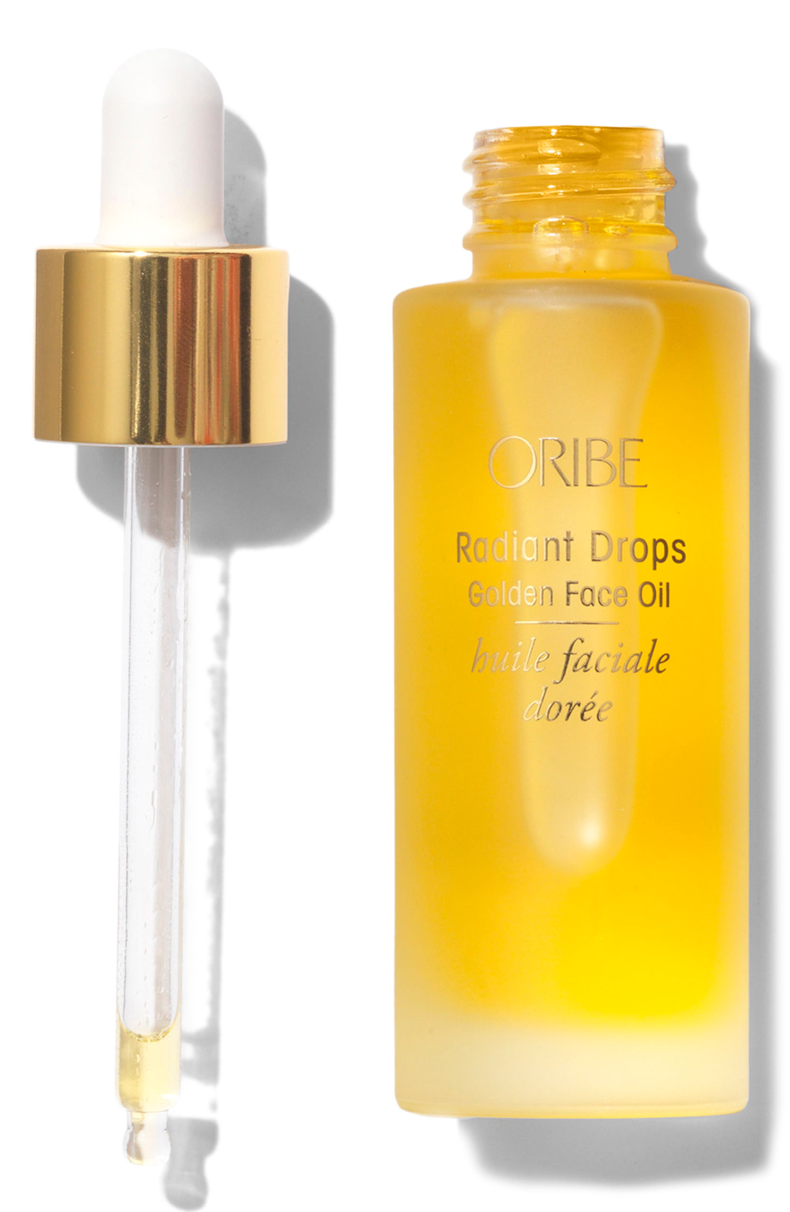 SPACE.NK.apothecary Oribe Radiant Drops Golden Face Oil,                             Alternate thumbnail 4, color,                             NO COLOR
