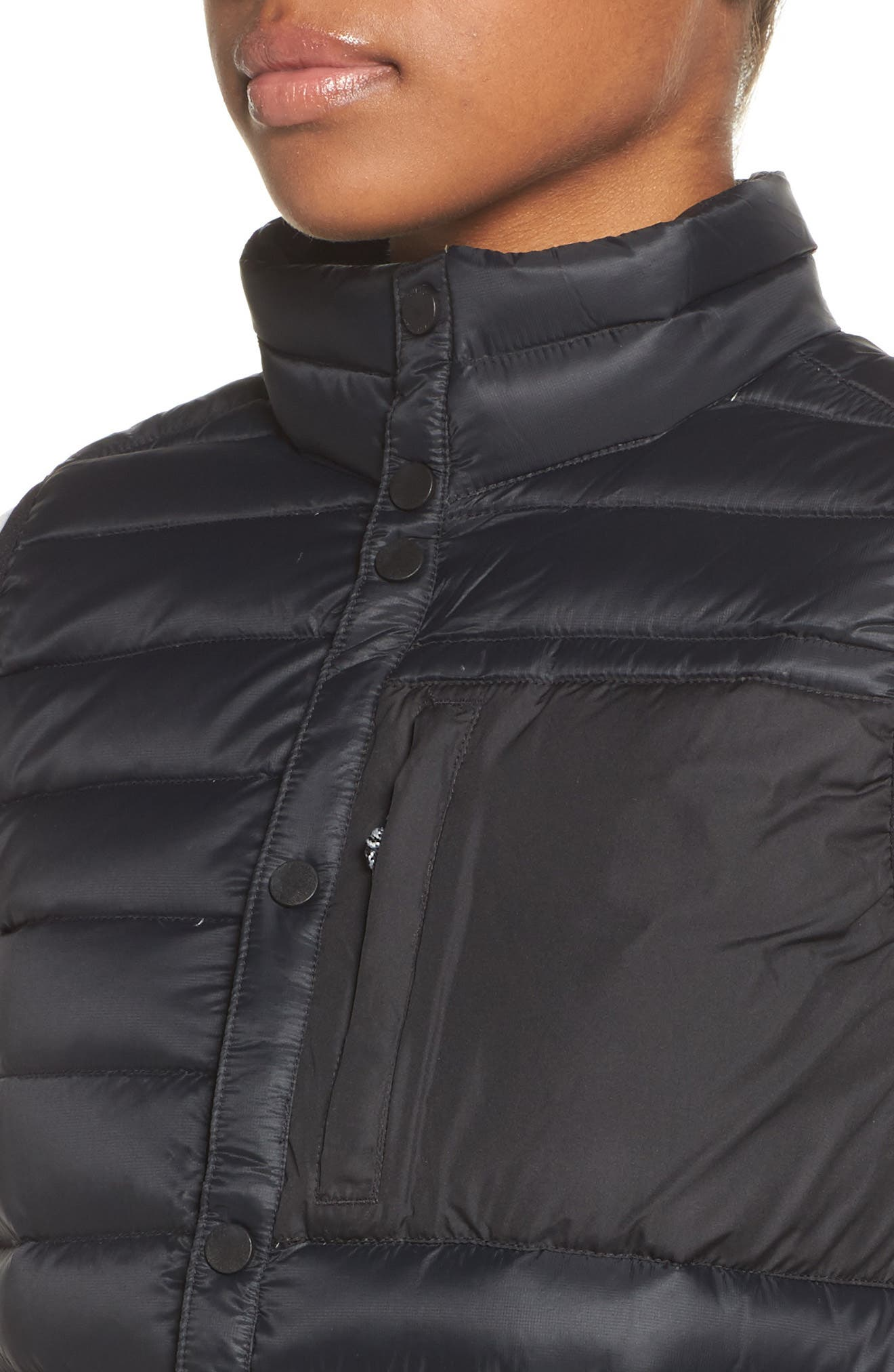 Evergreen Water-Resistant Down Insulator Vest,                             Alternate thumbnail 7, color,