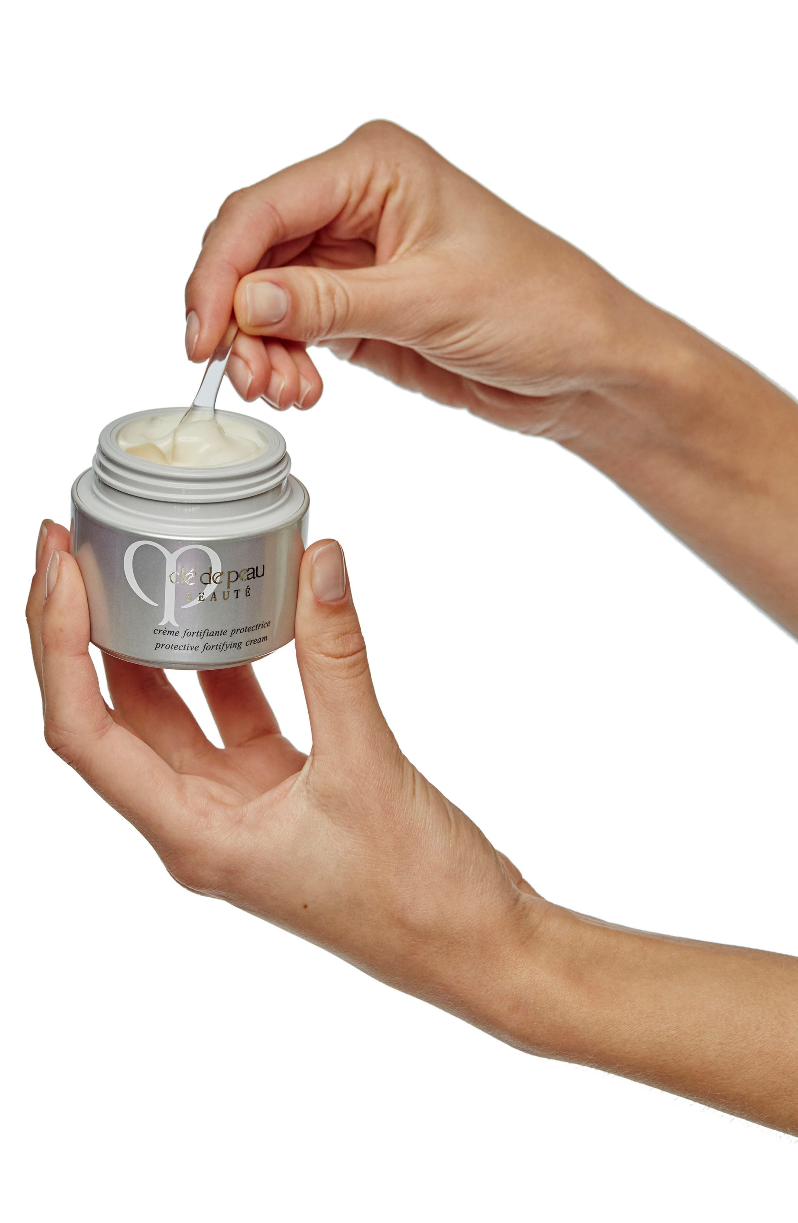 Protective Fortifying Cream Broad Spectrum SPF 22 Sunscreen,                             Alternate thumbnail 6, color,                             NO COLOR