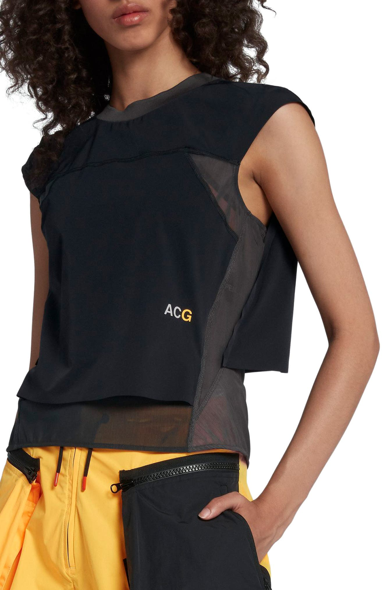 NikeLab ACG Women's Top,                             Main thumbnail 1, color,                             010