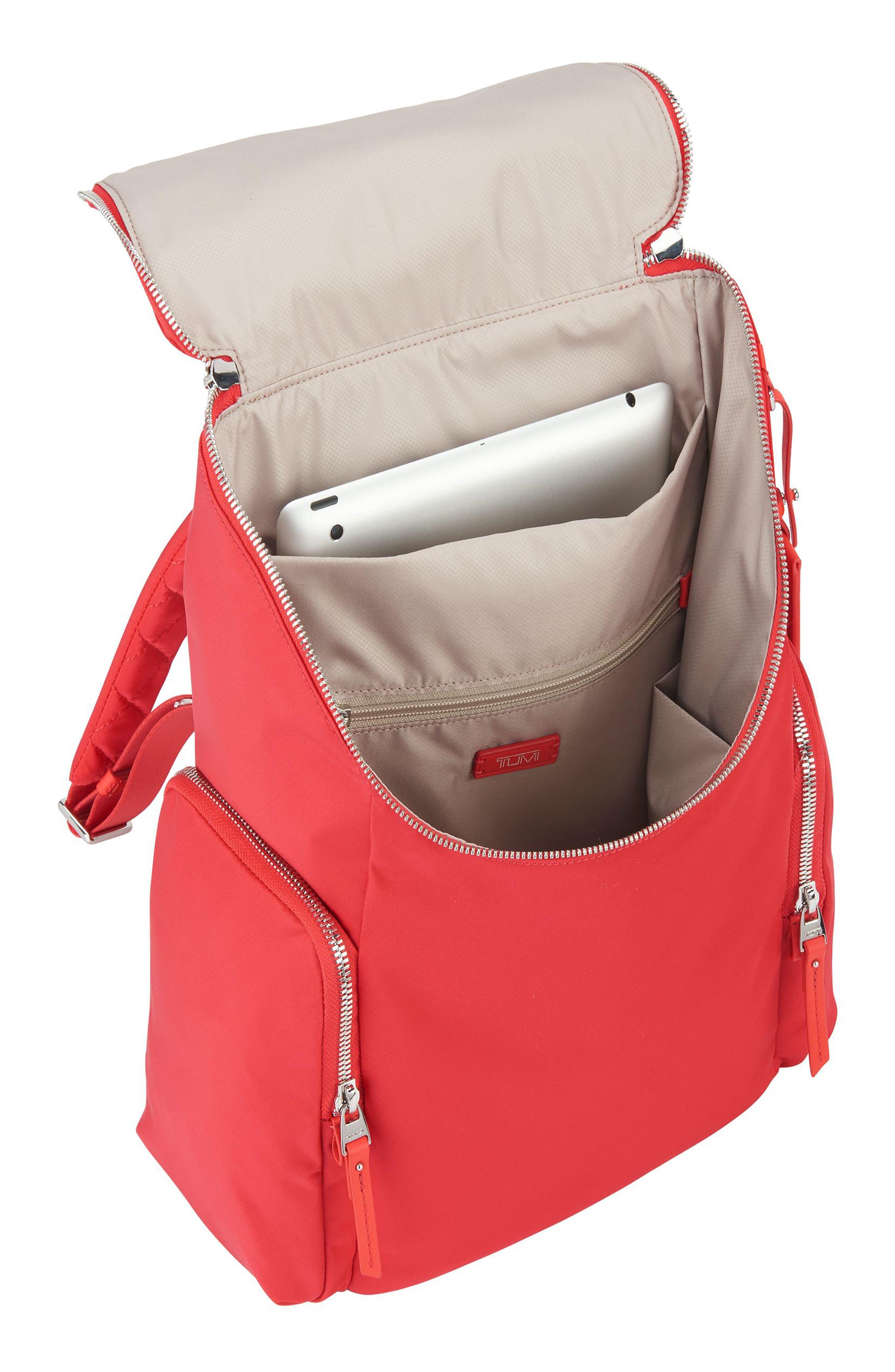 Voyageur Lexa Nylon Backpack,                             Alternate thumbnail 16, color,