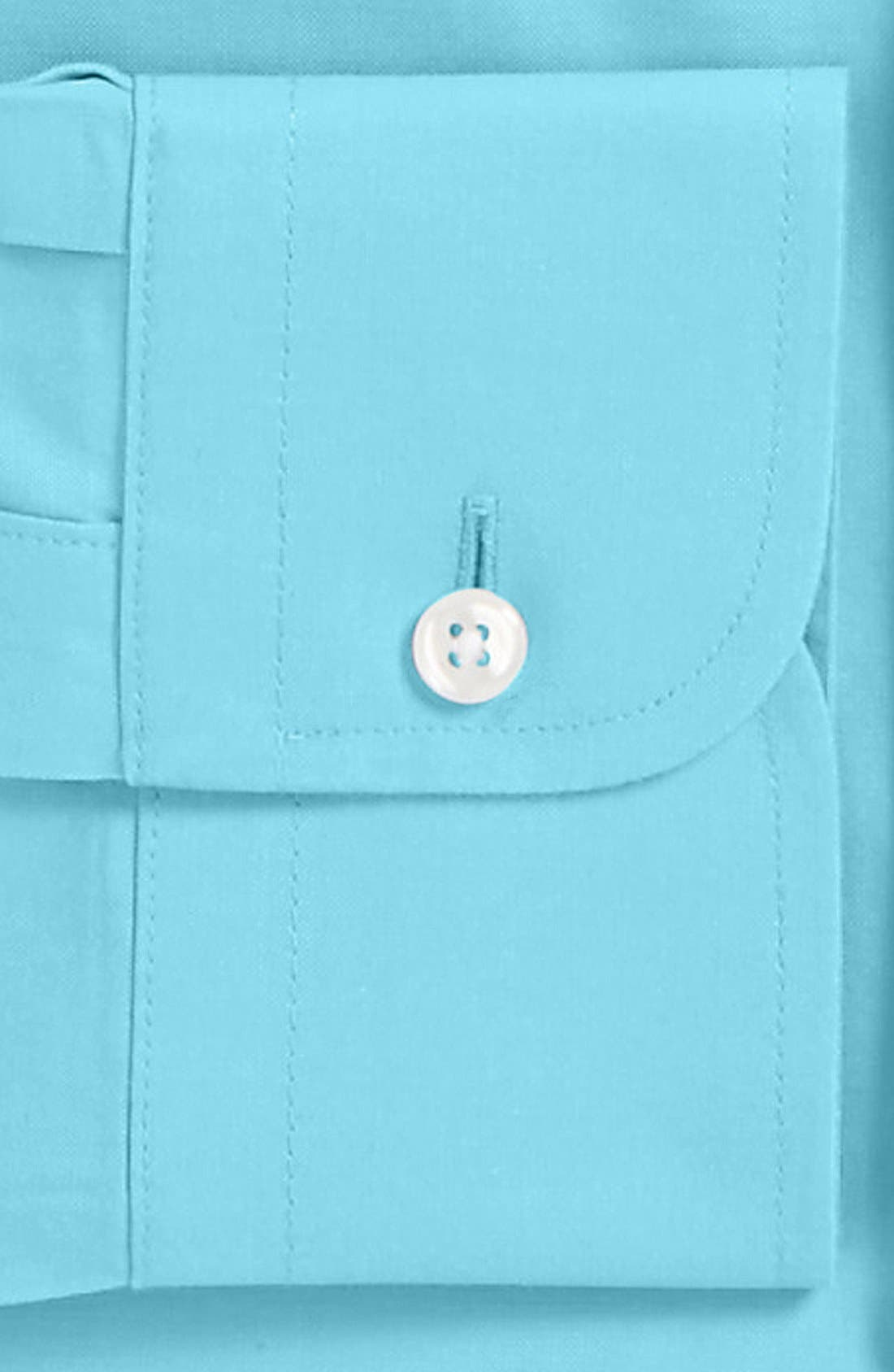 Smartcare<sup>™</sup> Traditional Fit Pinpoint Dress Shirt,                             Alternate thumbnail 58, color,