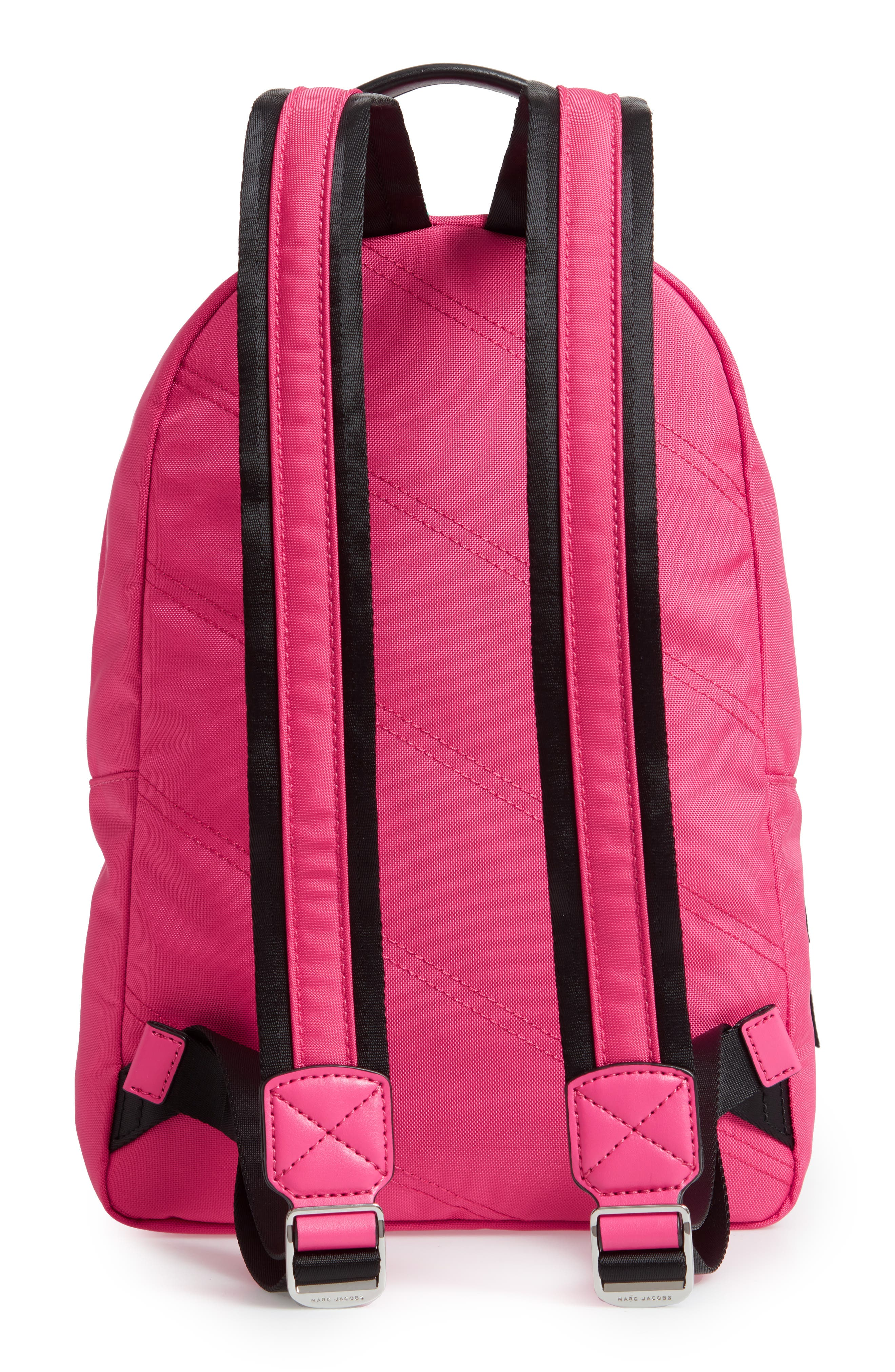Medium Sport Trek Backpack,                             Alternate thumbnail 3, color,                             PEONY