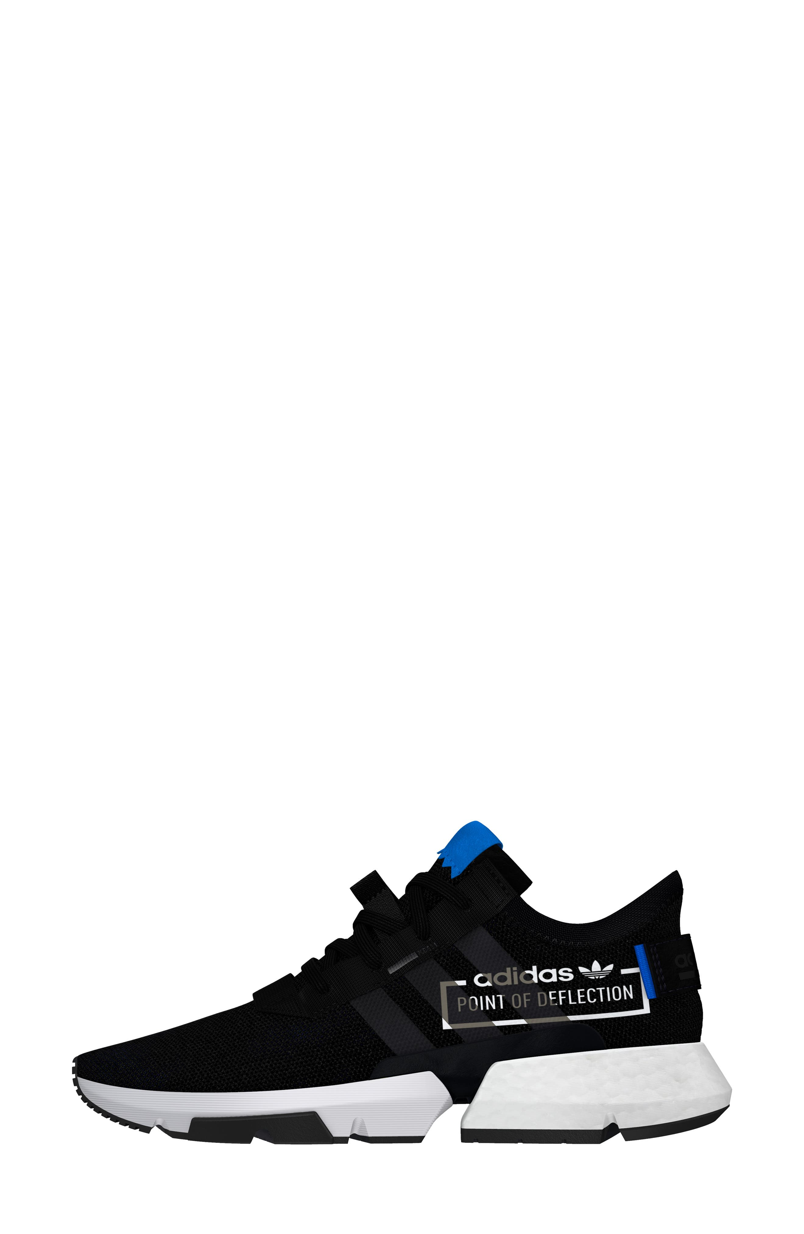 Pod S3.1 Sneaker,                             Alternate thumbnail 5, color,                             BLACK/ BLACK/ BLUEBIRD