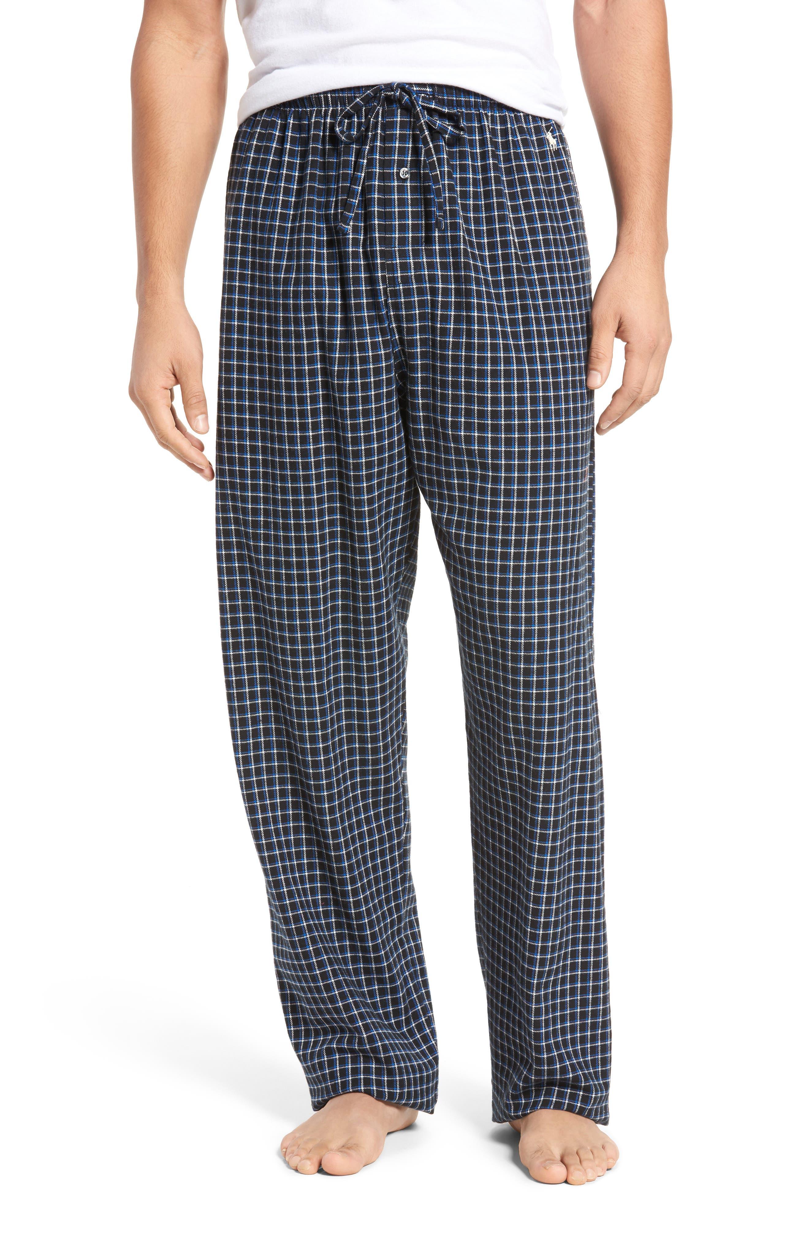 Flannel Pajama Pants,                             Main thumbnail 9, color,