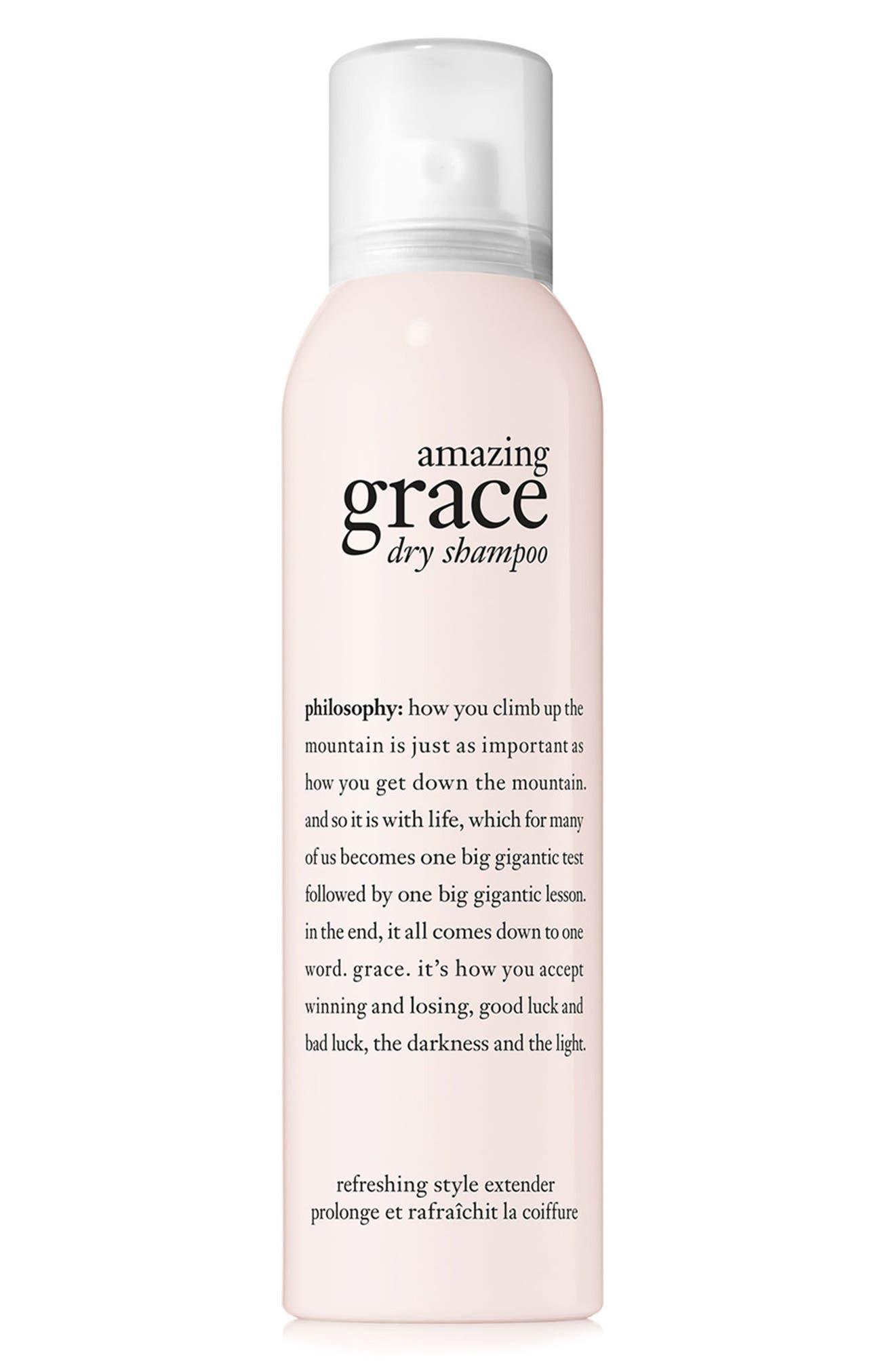 amazing grace dry shampoo,                             Main thumbnail 1, color,                             000
