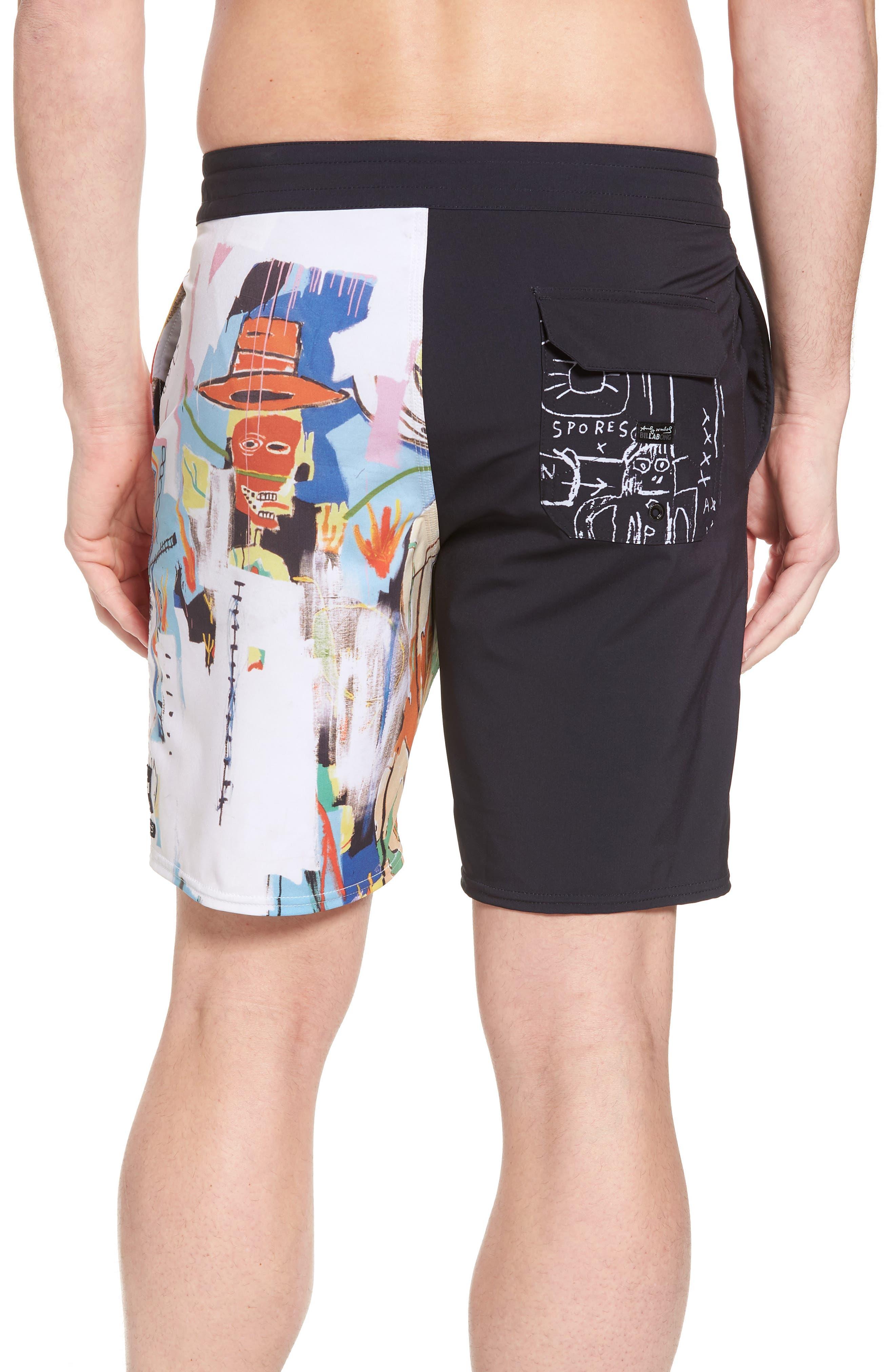 x Warhol 699 Board Shorts,                             Alternate thumbnail 2, color,                             100