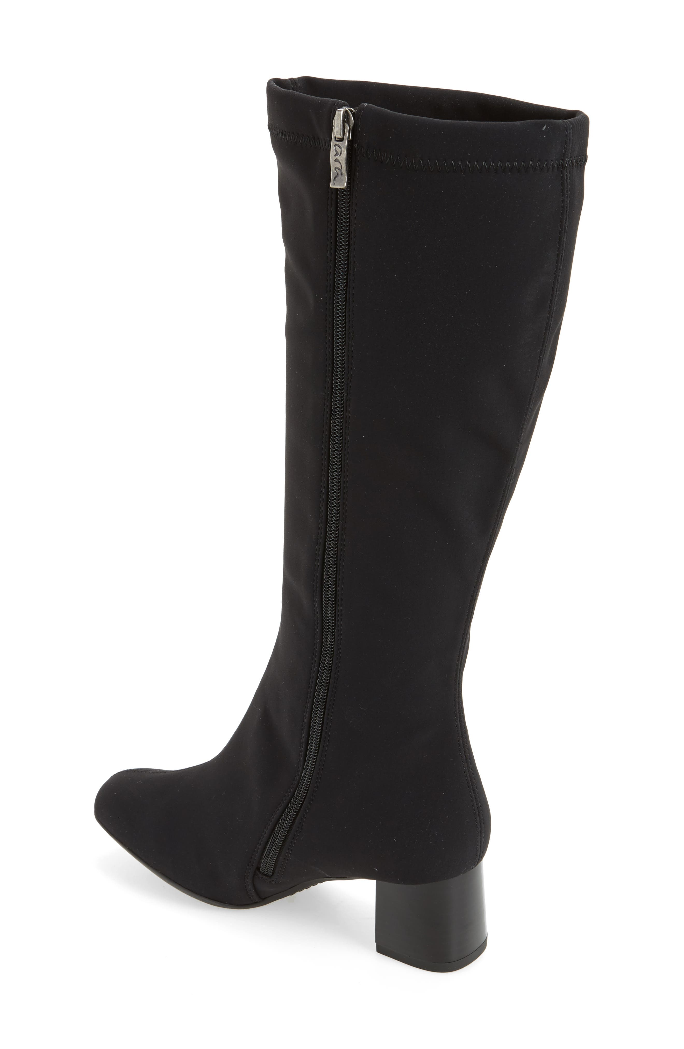 Clarissa Waterproof Gore-Tex<sup>®</sup> Tall Boot,                             Alternate thumbnail 2, color,                             001