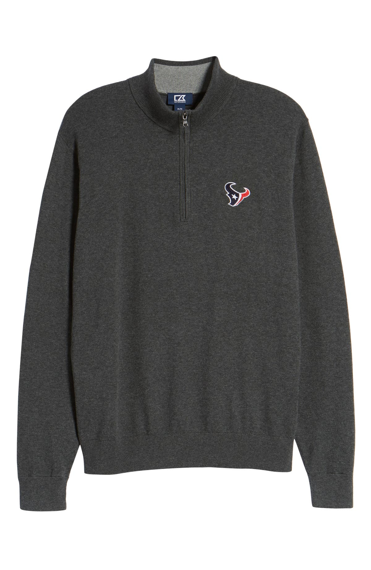 Cutter   Buck Houston Texans - Lakemont Regular Fit Quarter Zip Sweater  60c7b1a45