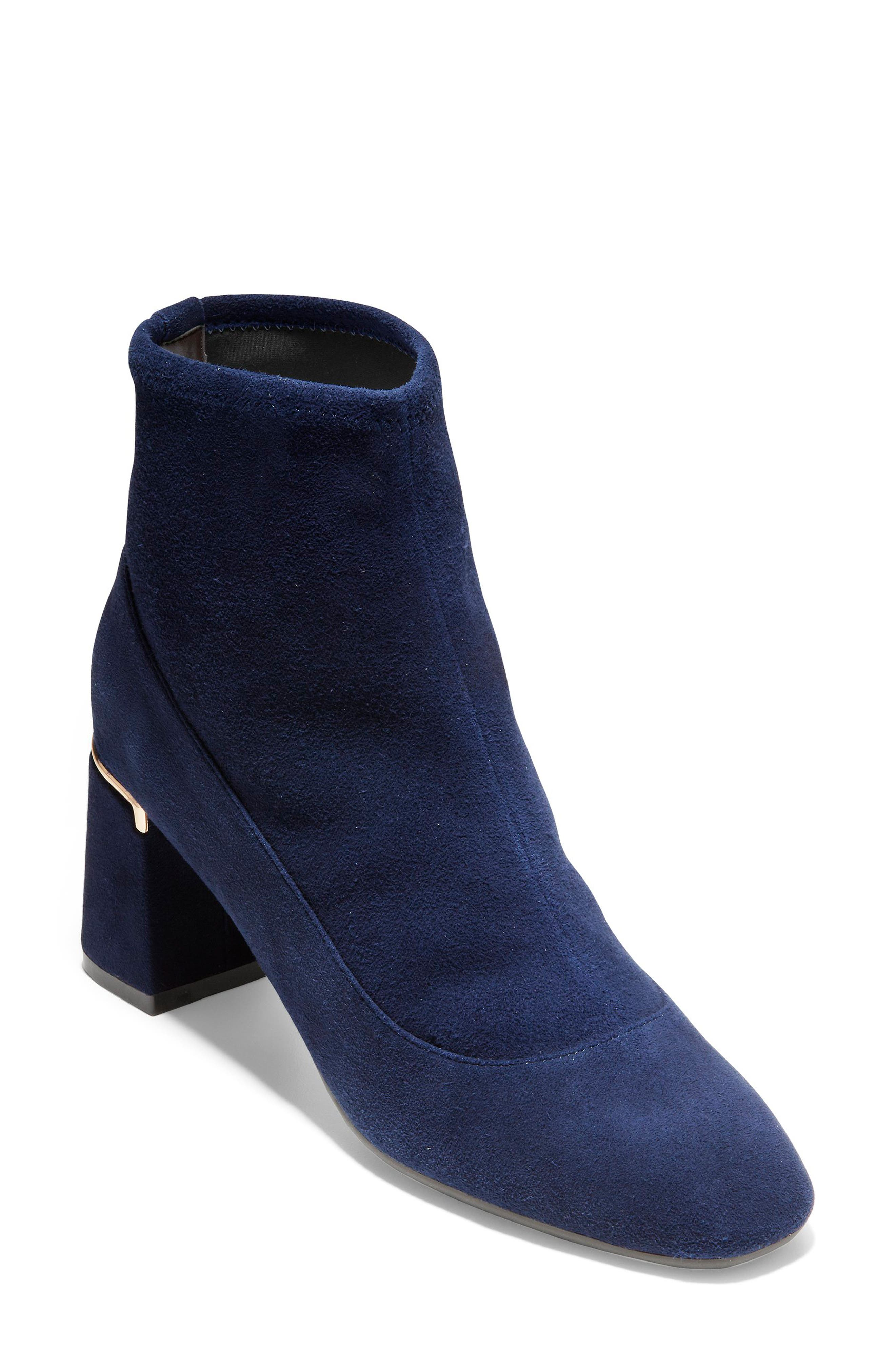 Cole Haan Laree Stretch Bootie B - Blue