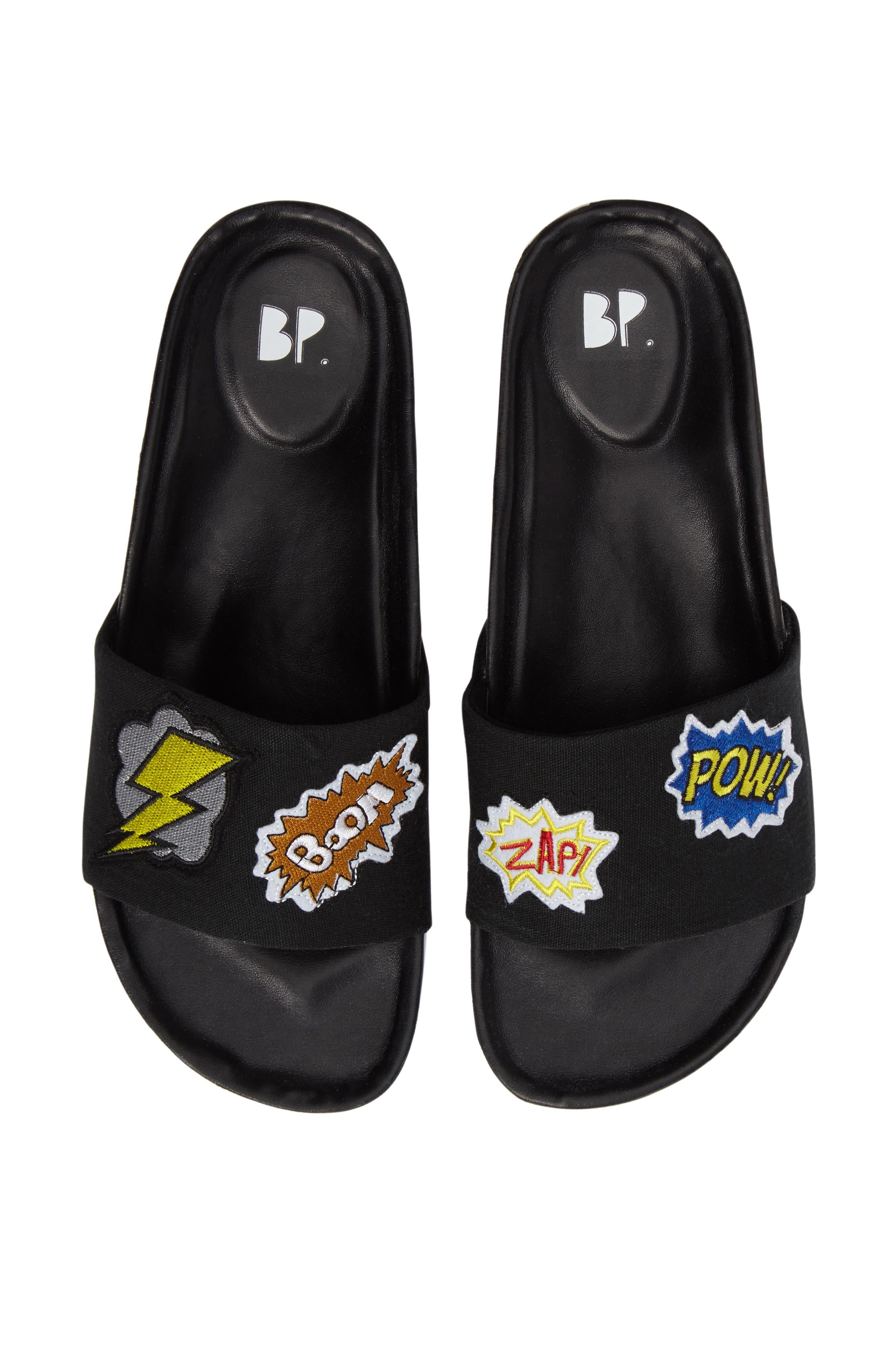 Slide Sandal,                             Main thumbnail 1, color,                             001