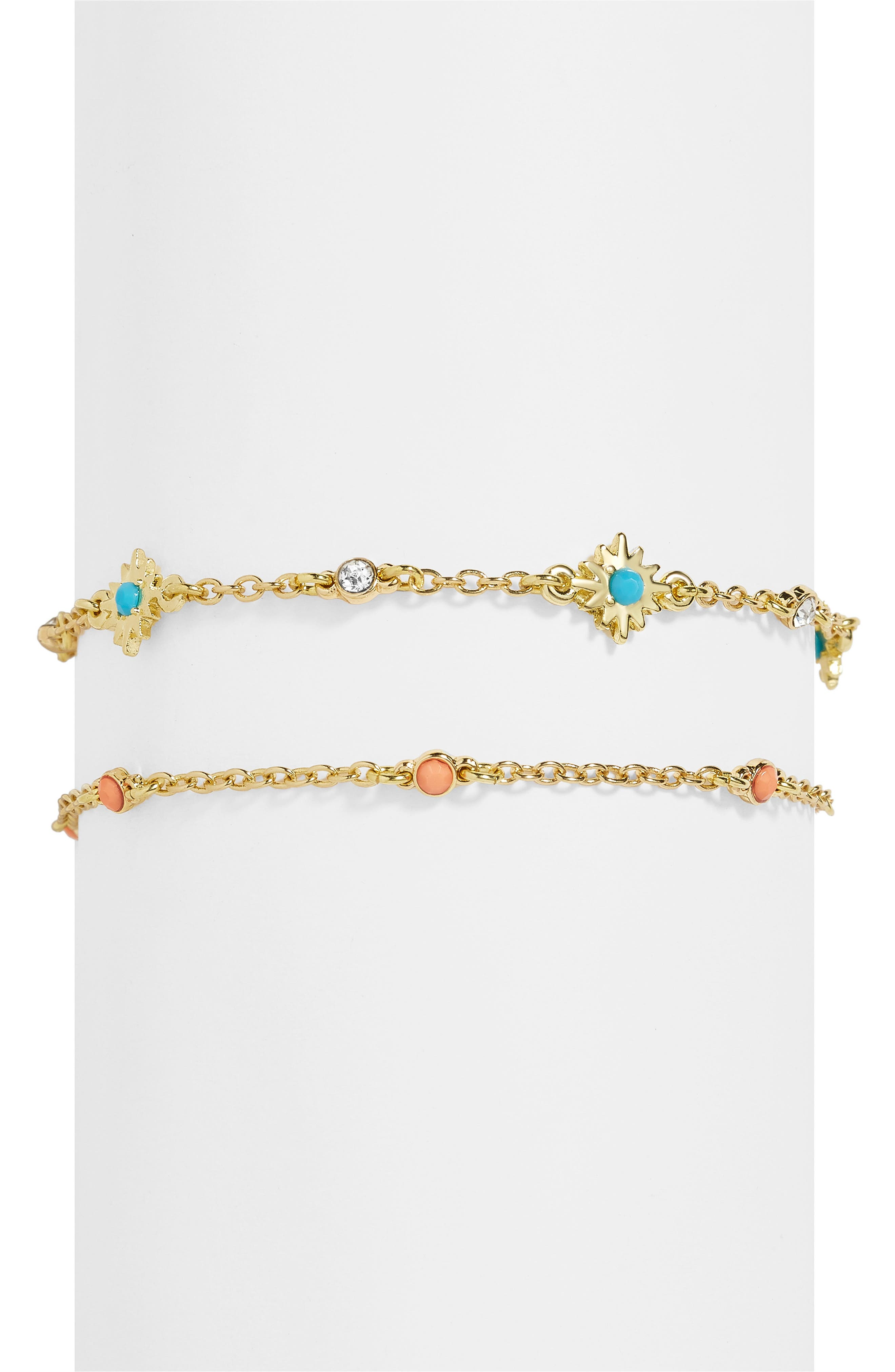 Set of 2 Nova Bracelets,                         Main,                         color, BLUE