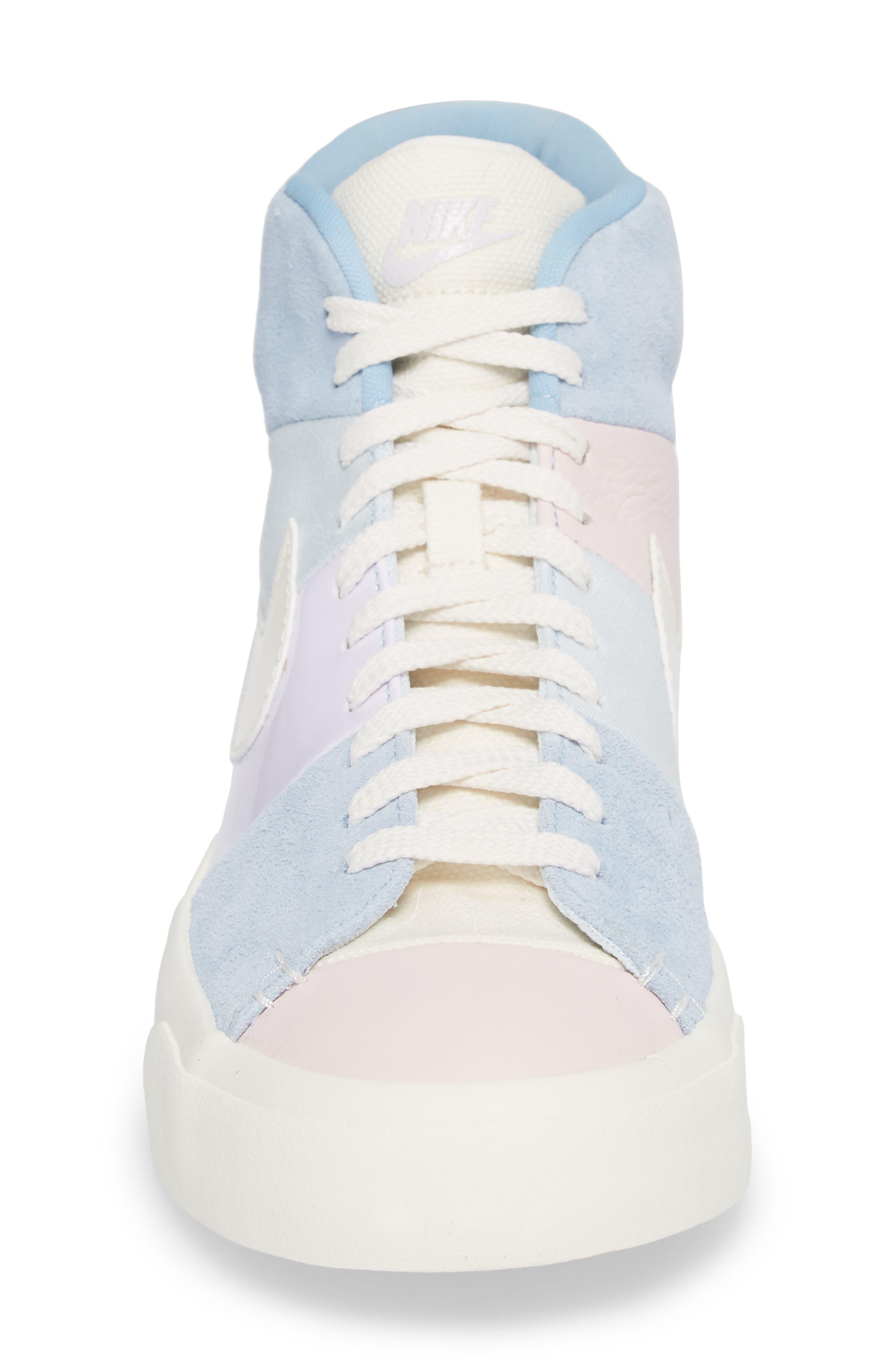 Blazer Royal Easter QS High Top Sneaker,                             Alternate thumbnail 4, color,                             650