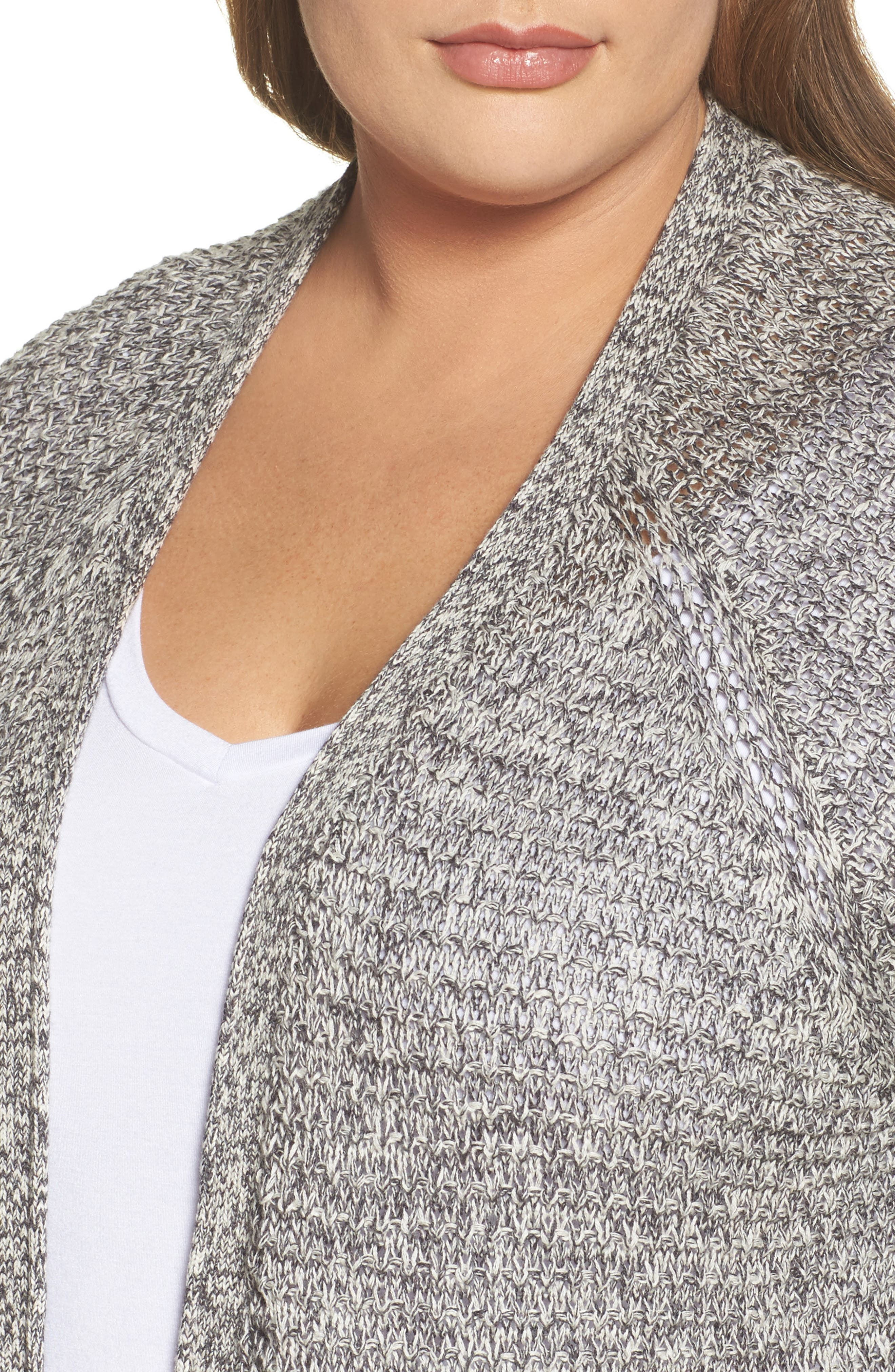 Easy Knit Cardigan,                             Alternate thumbnail 4, color,                             031