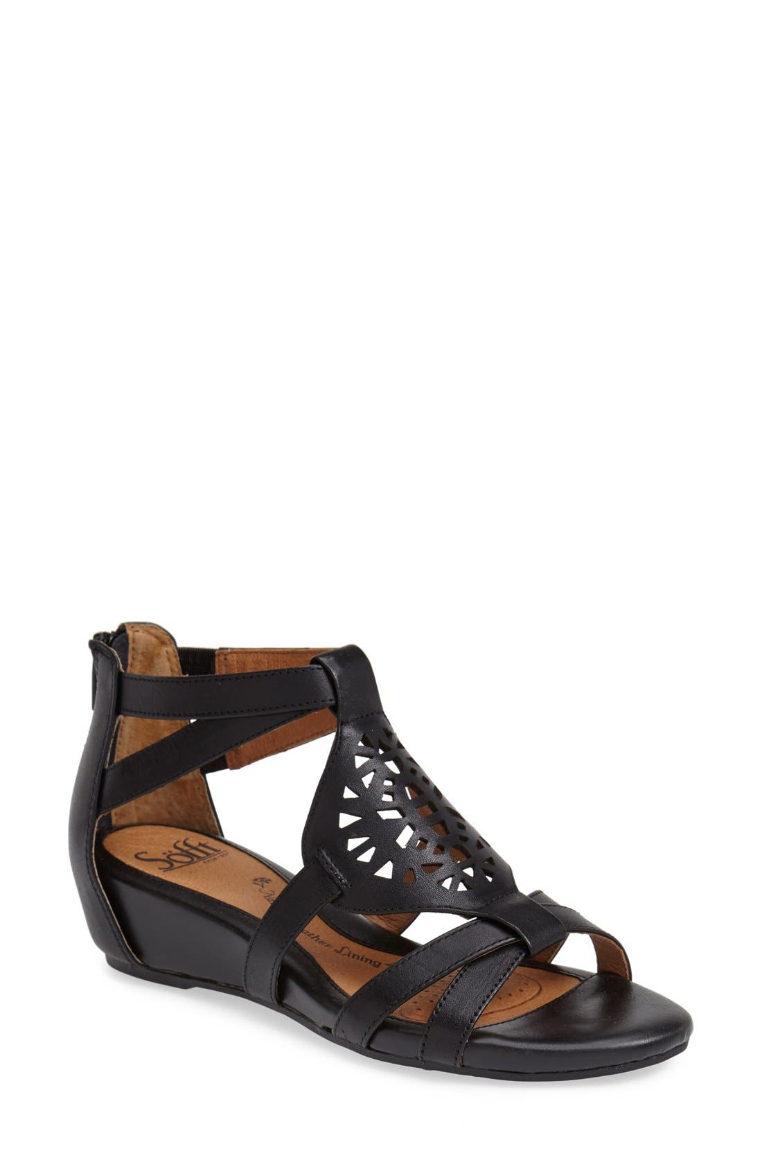 'Breeze' Sandal, Main, color, 001
